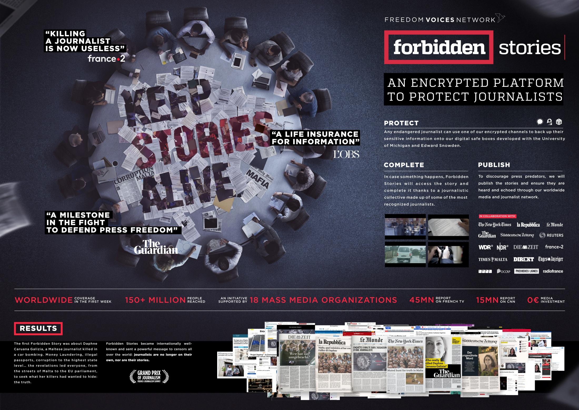 Thumbnail for Forbidden Stories