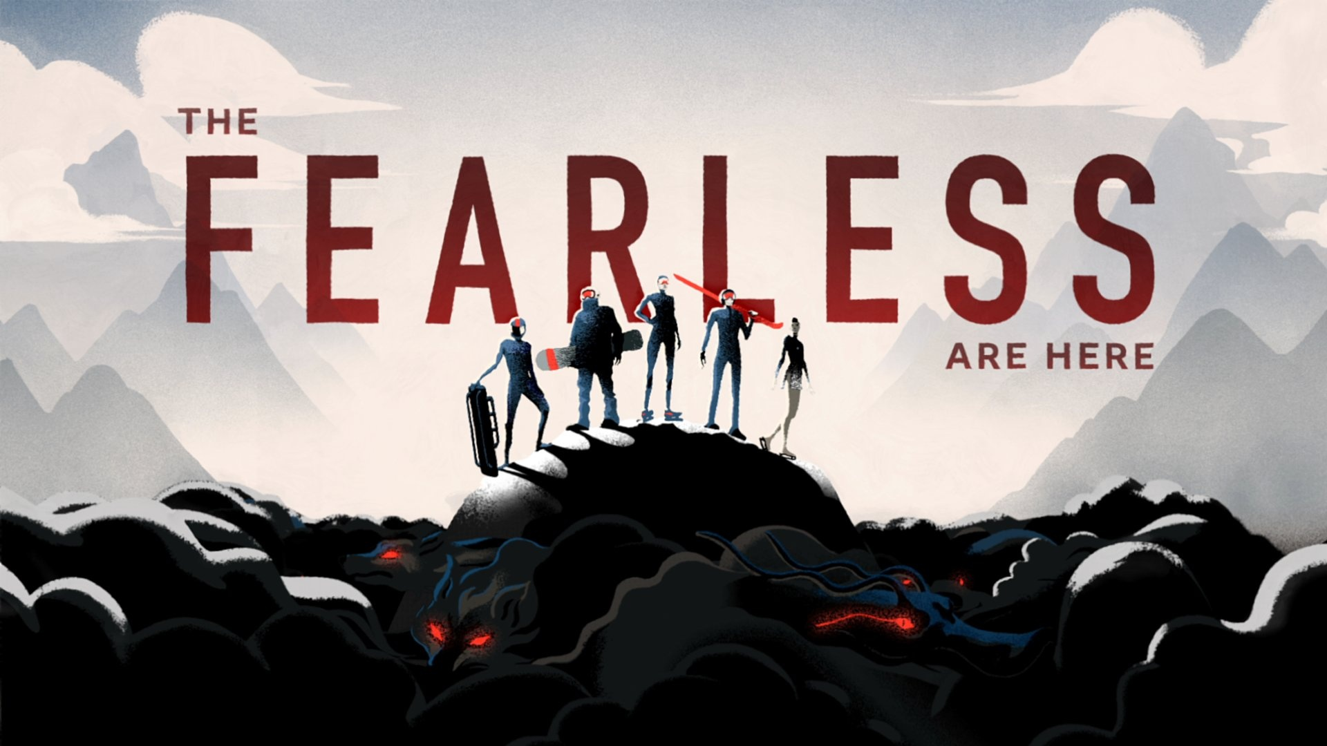 Thumbnail for BBC Winter Olympics - The Fearless are Here