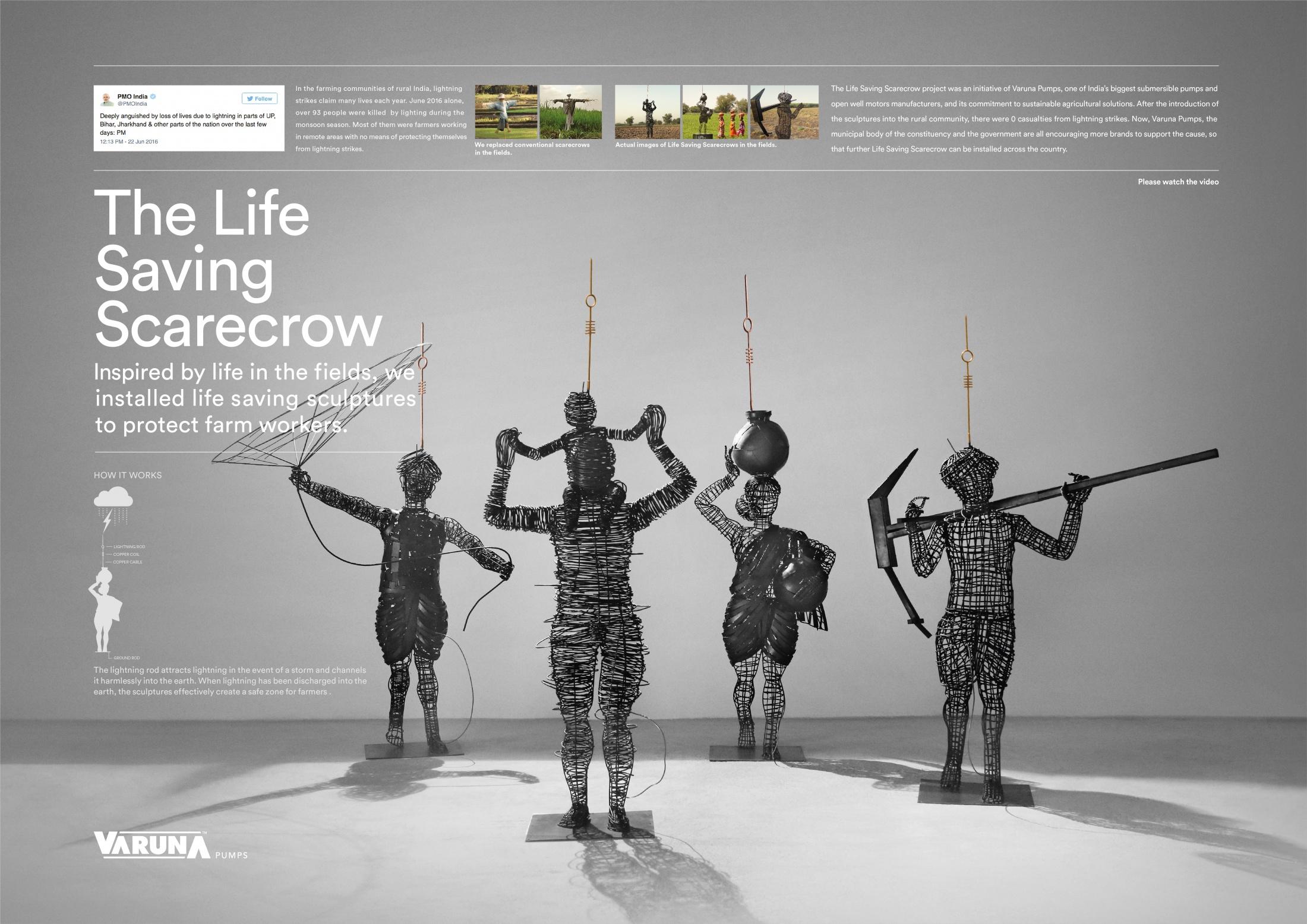 Thumbnail for Life Saving Scarecrow