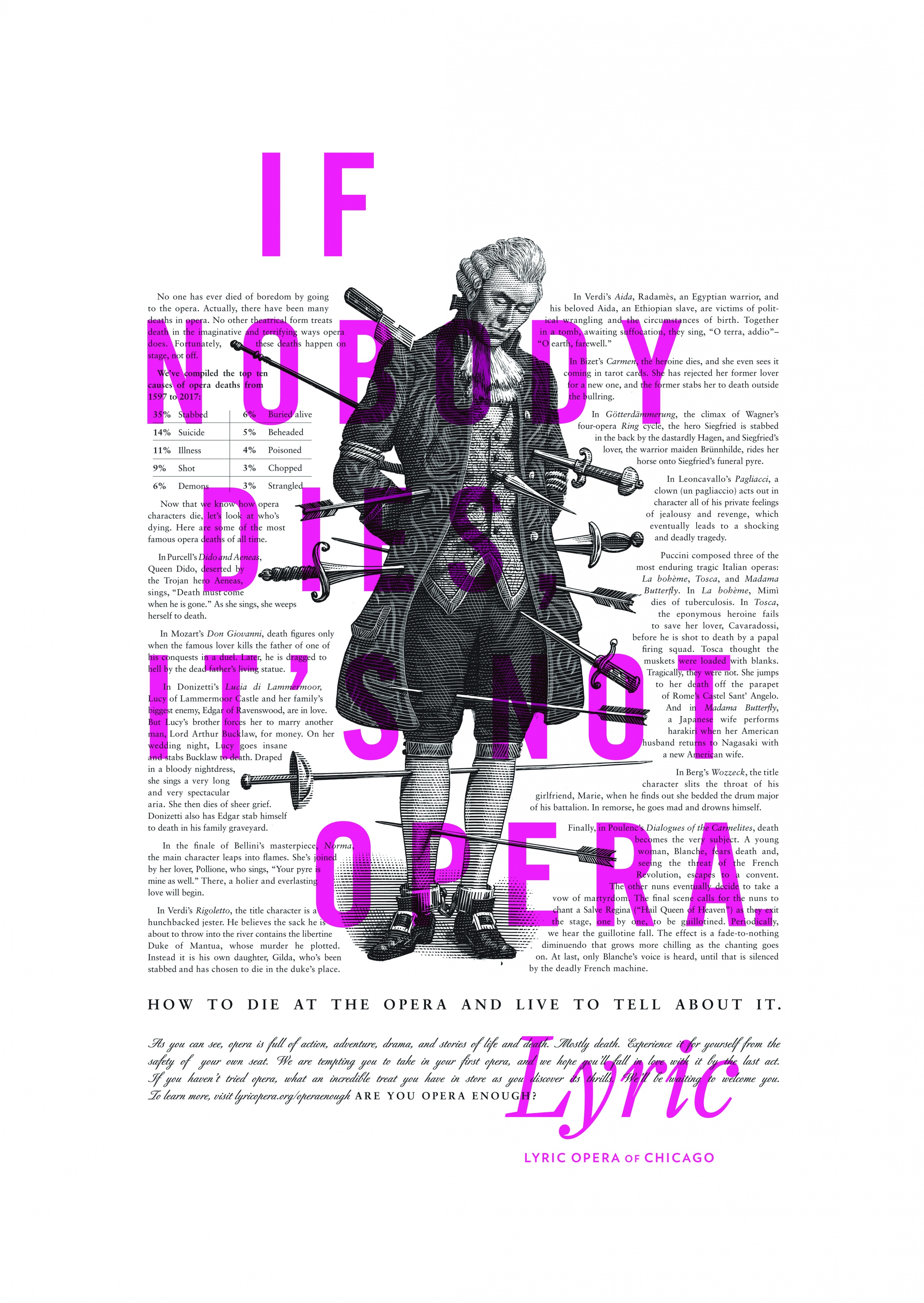 Thumbnail for Lyric Opera Print: Deaths