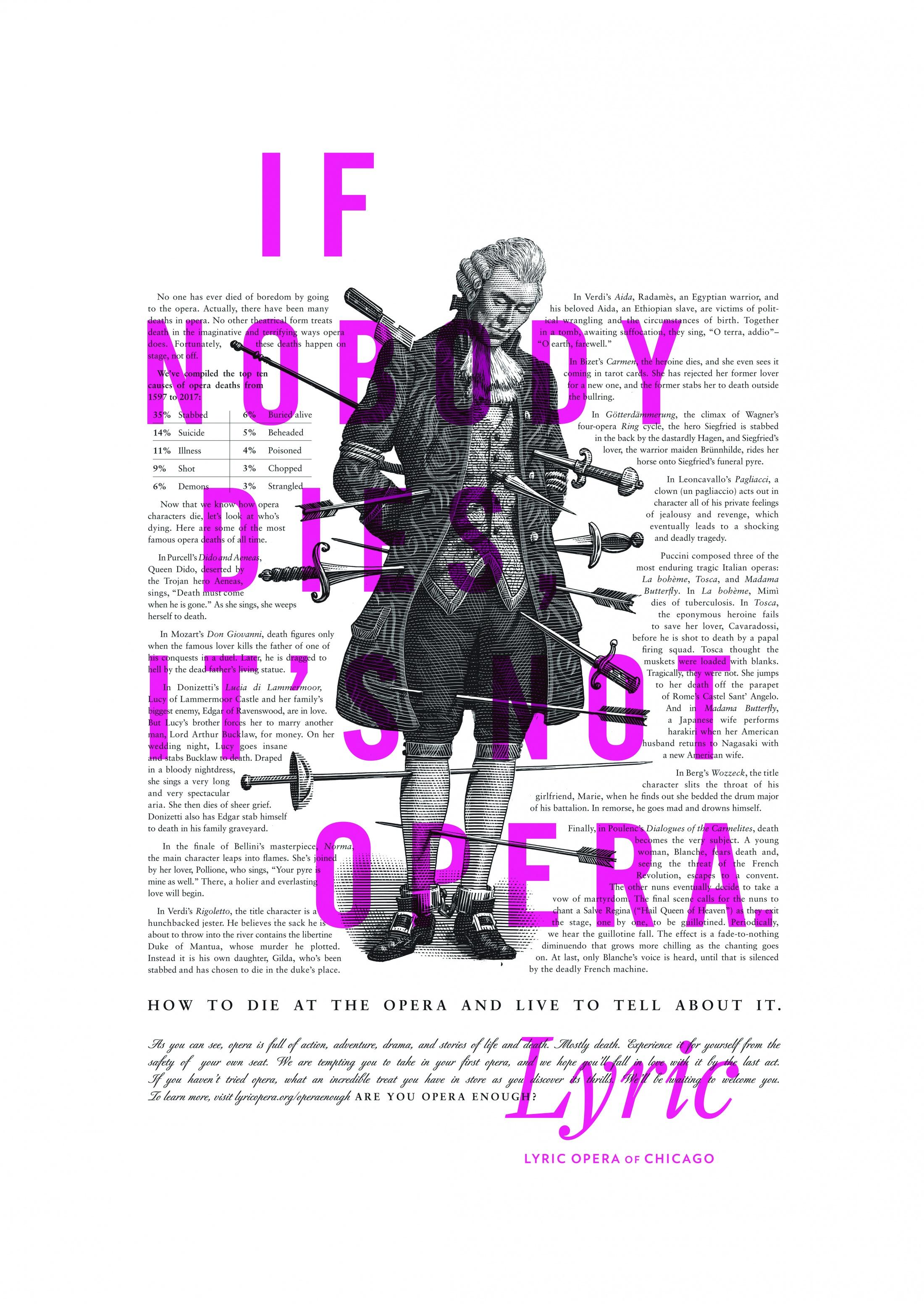 Thumbnail for Lyric Opera Print Campaign: Deaths