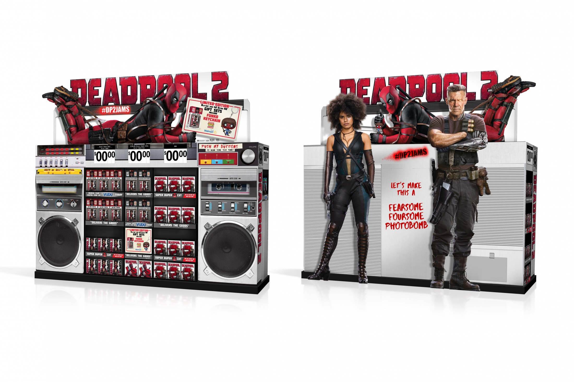 Thumbnail for DEADPOOL 2 Home Entertainment Display: WM WOW Boombox