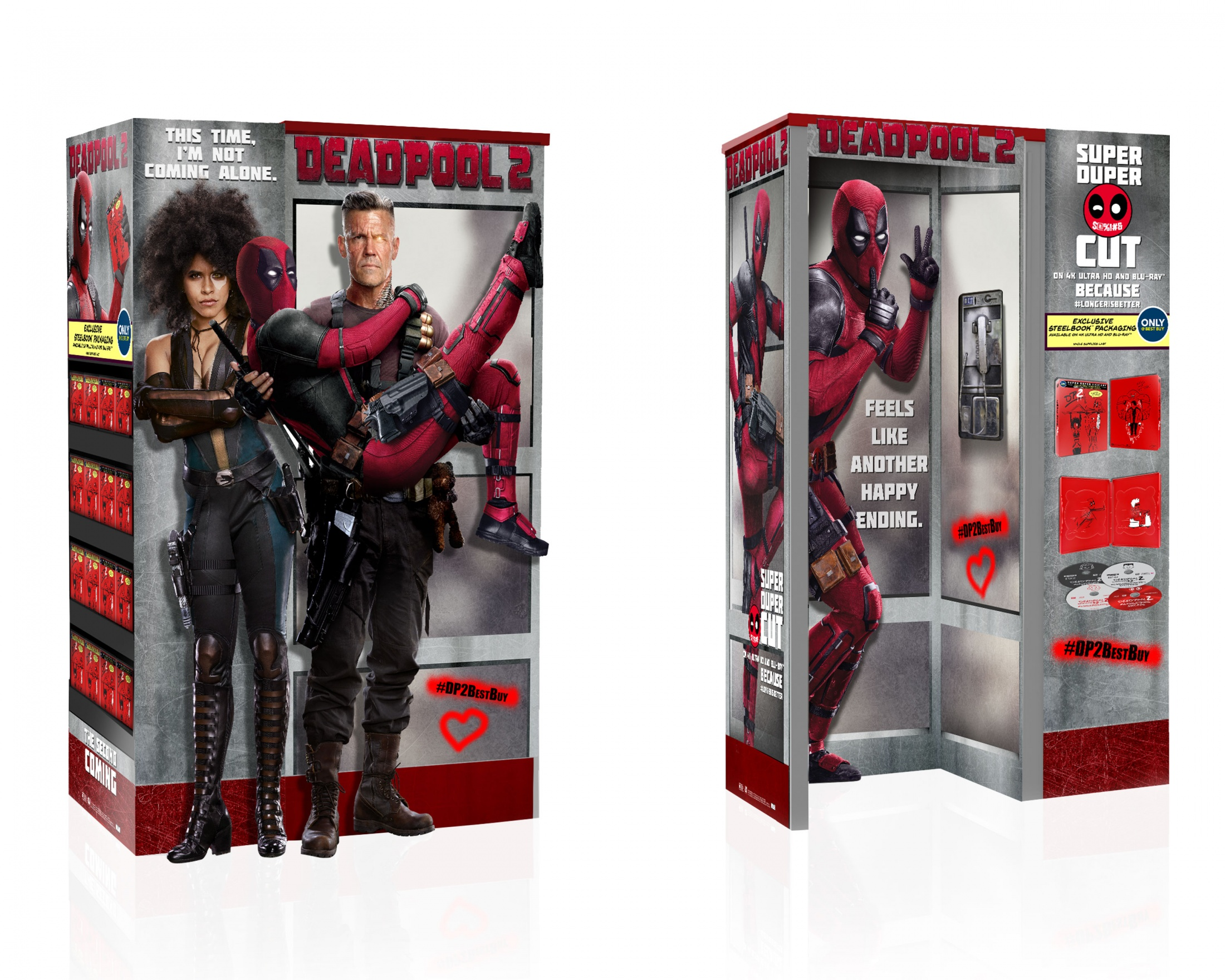 Thumbnail for DEADPOOL 2 Home Entertainment Display: BBY WOW Phone Booth