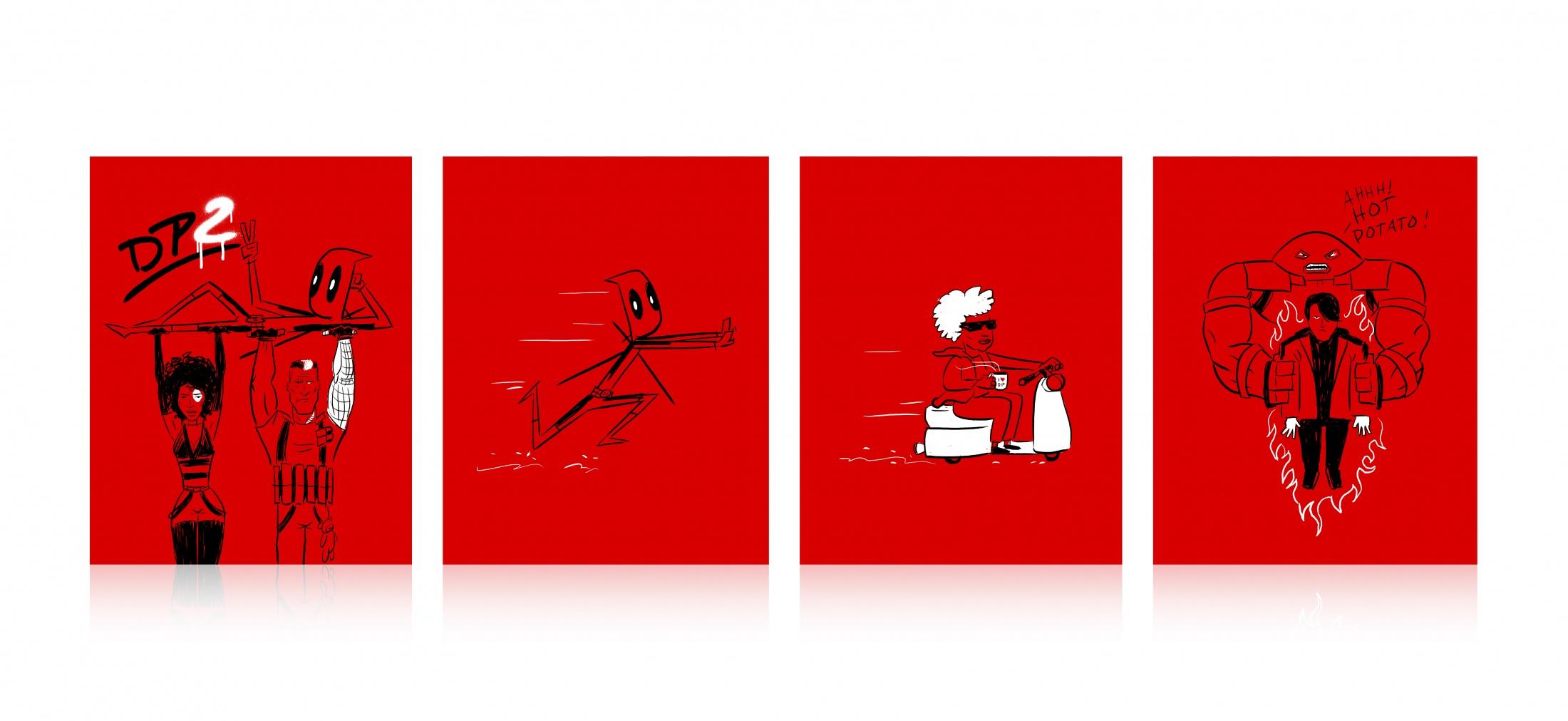 Thumbnail for Deadpool 2 Super Duper $@%!#& Cut Exclusive Steelbook