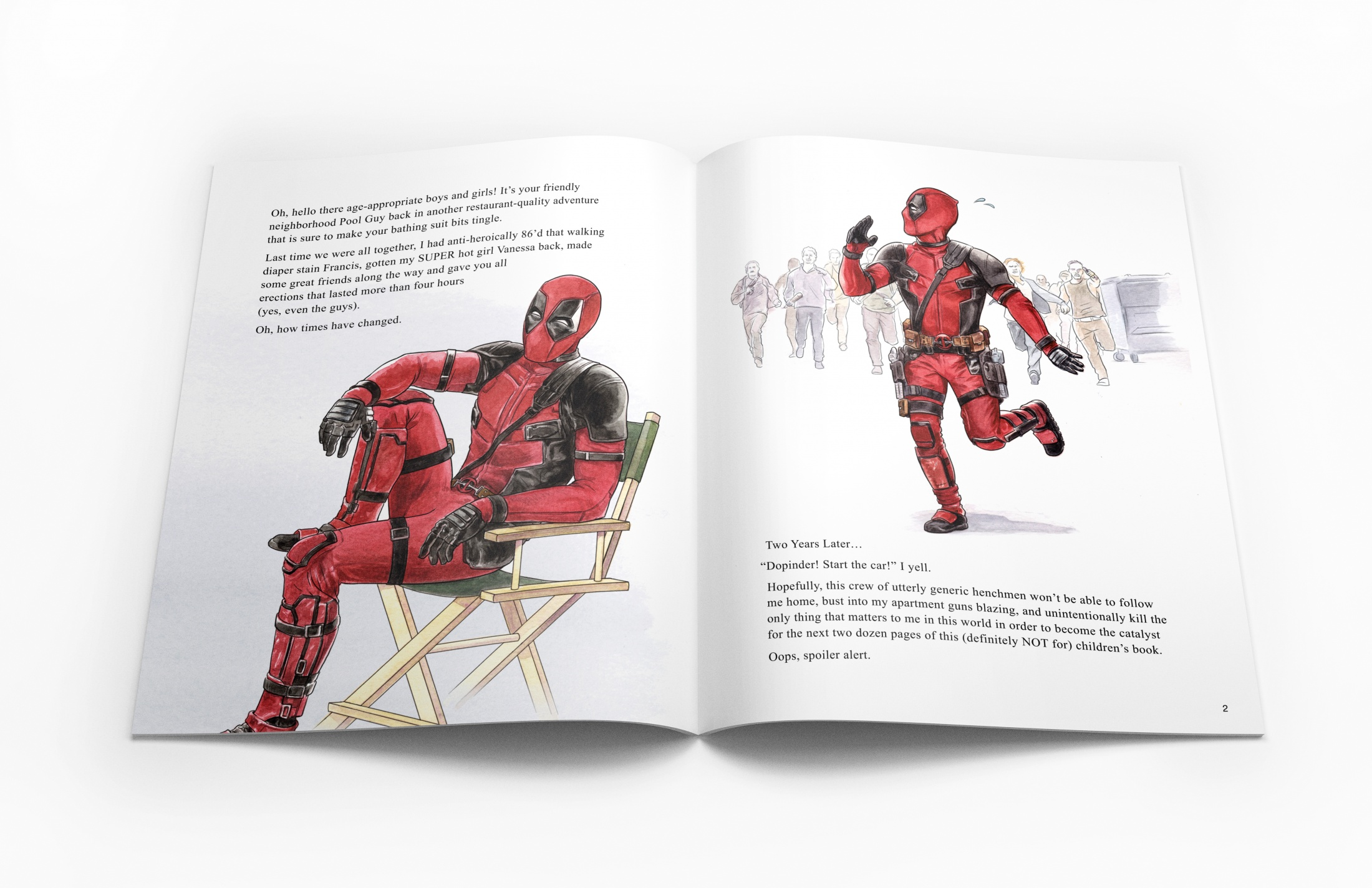 Thumbnail for Deadpool 2 Collectible Limited Edition Book