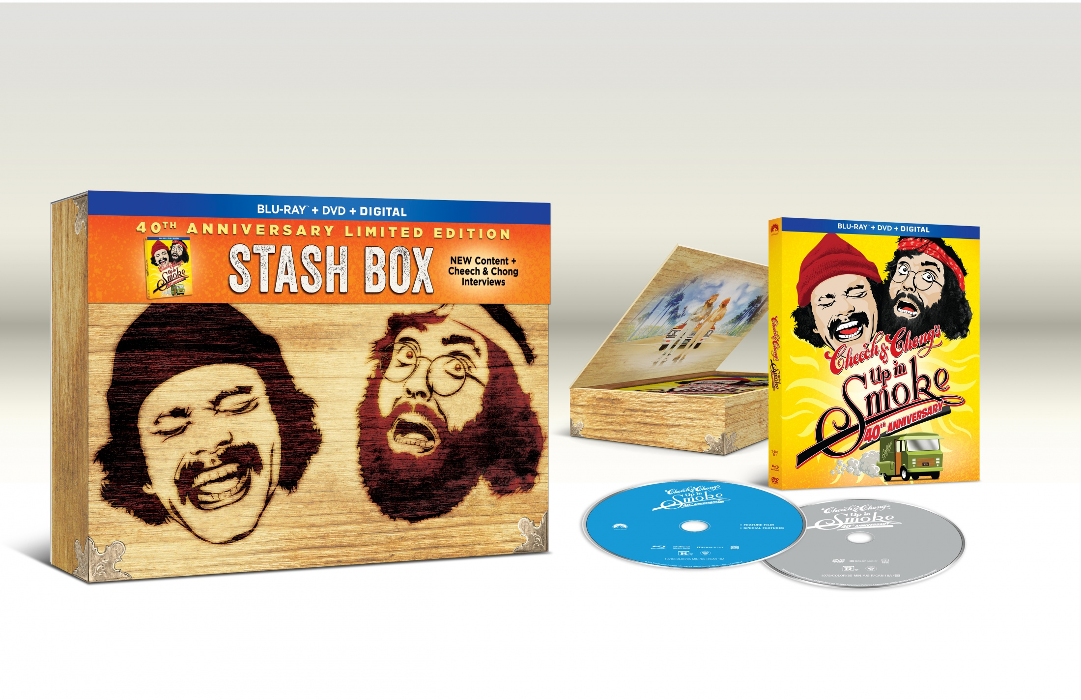 Thumbnail for Cheech and Chong Stash Box