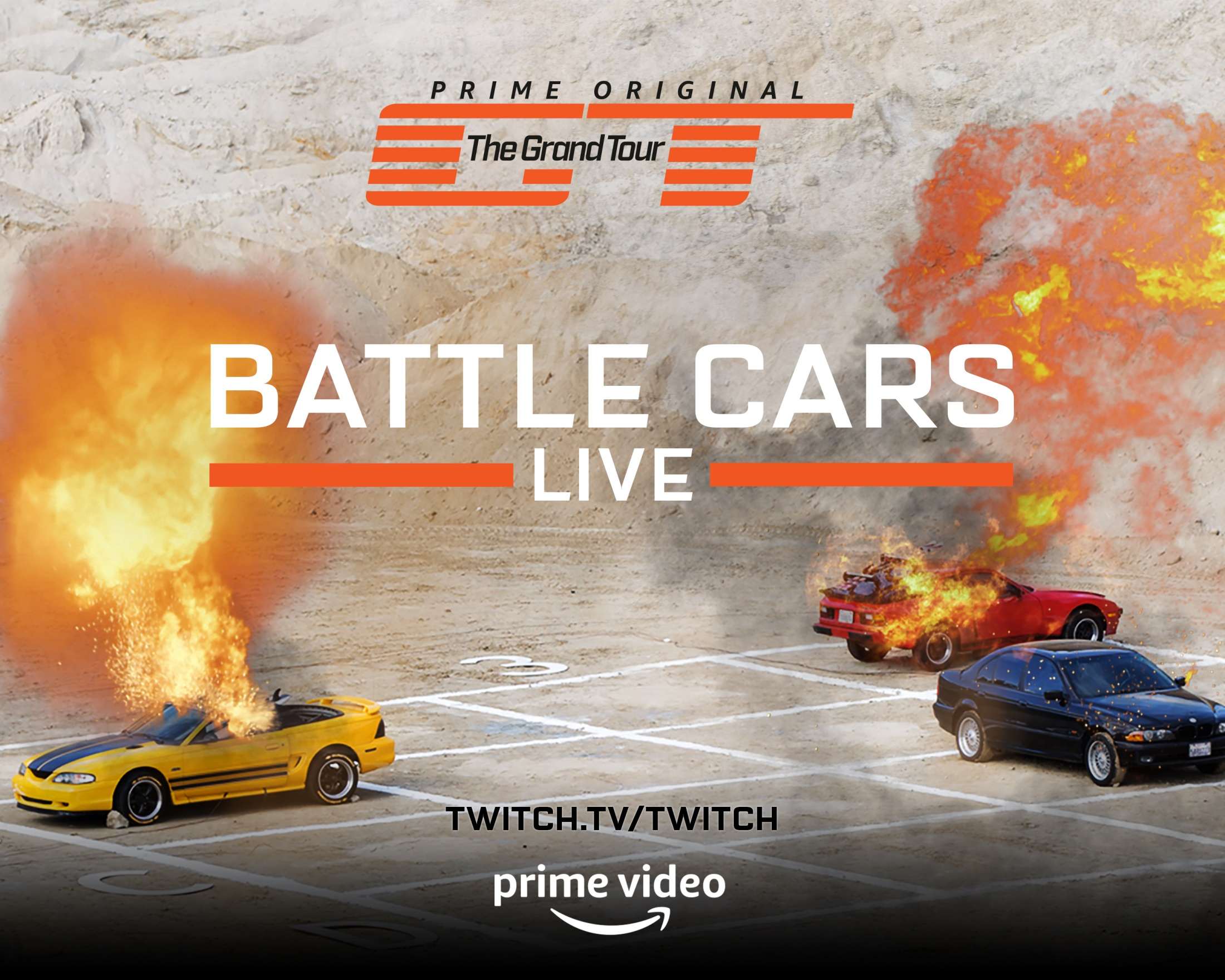 Image Media for The Grand Tour Season 2: Battle Cars Live