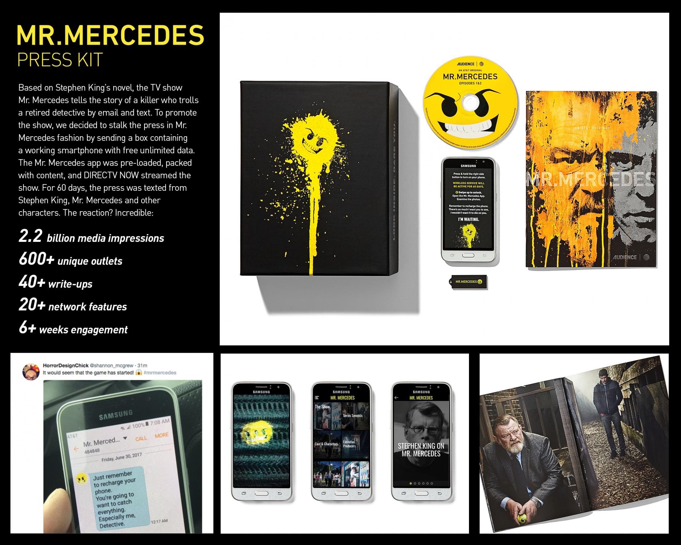 Thumbnail for Mr. Mercedes Press Kit