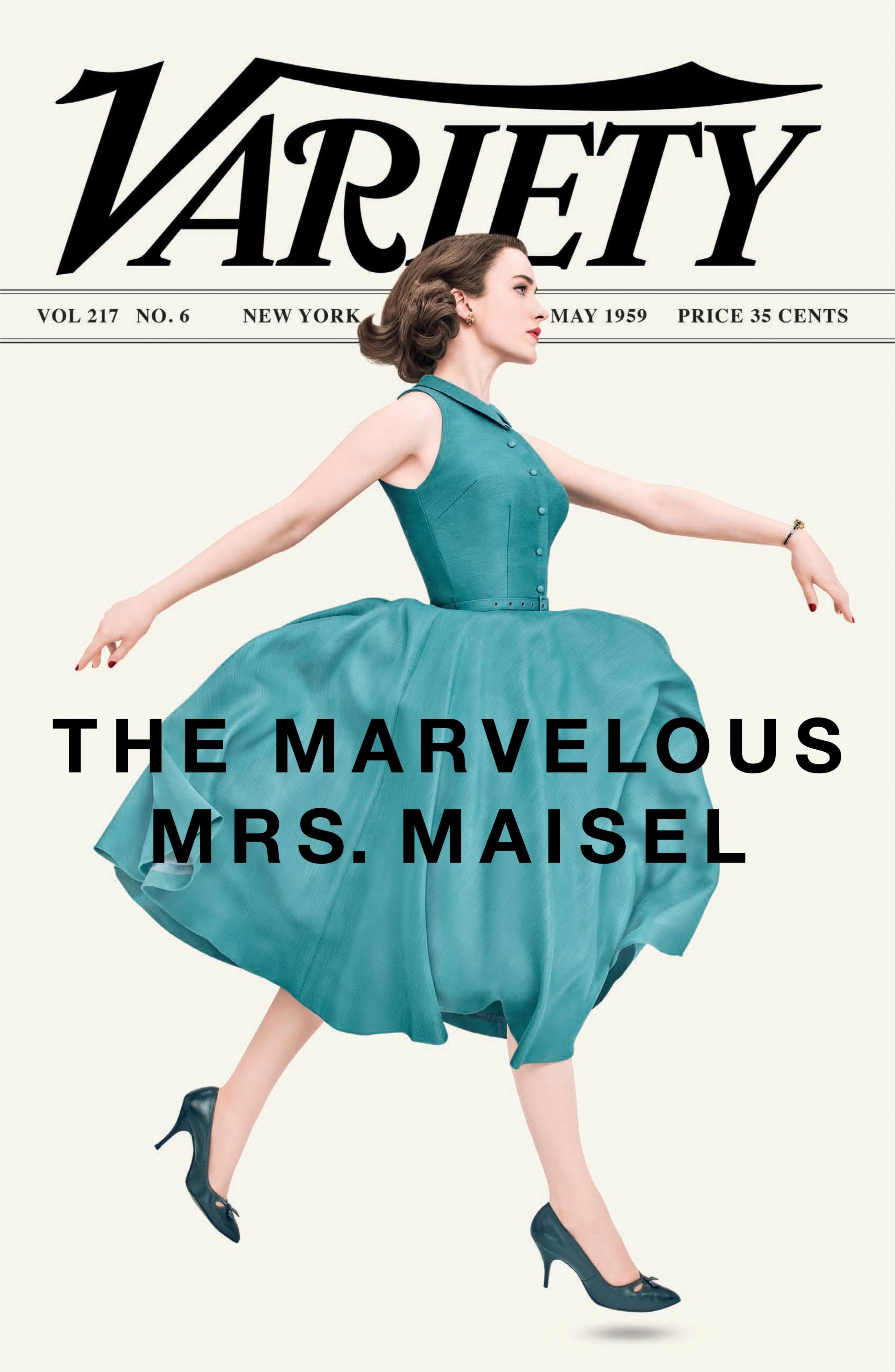 Thumbnail for The Marvelous Mrs. Maisel Magazine Cover Takeover (Variety)