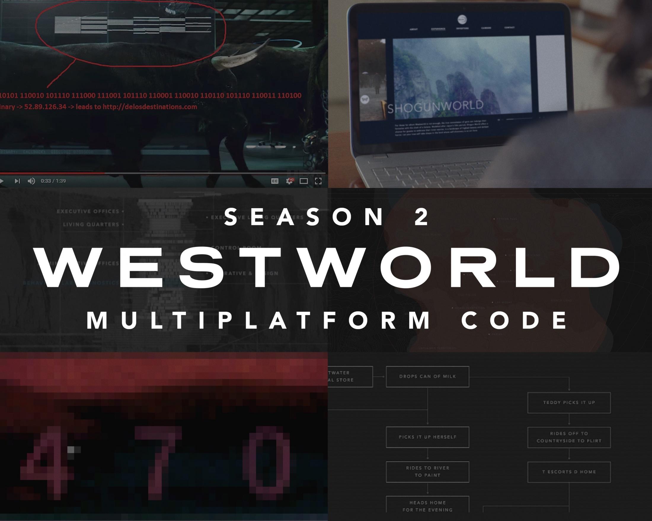 Thumbnail for Westworld Season 2 Code Campaign