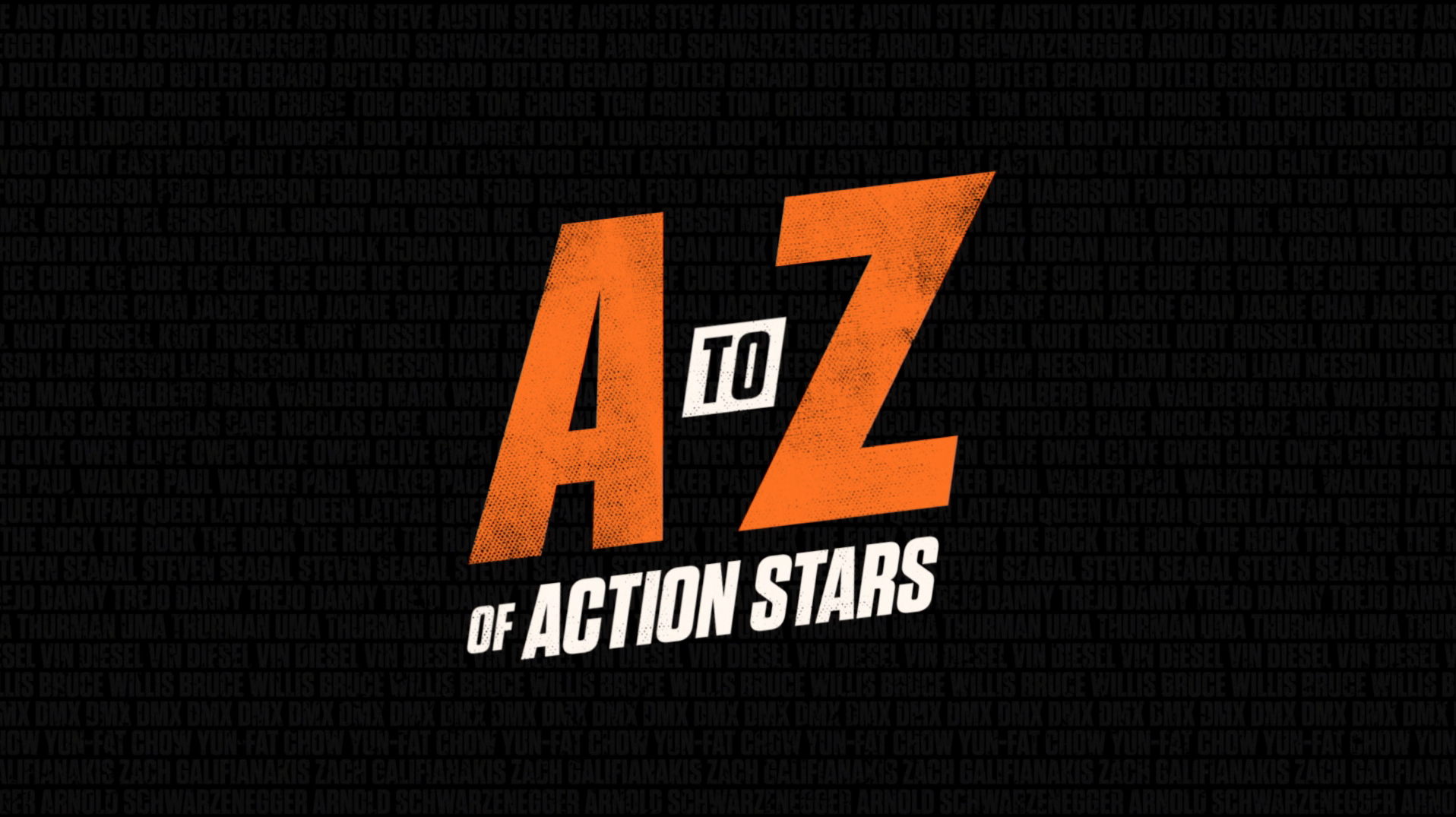 Thumbnail for A-Z ACTION STARS