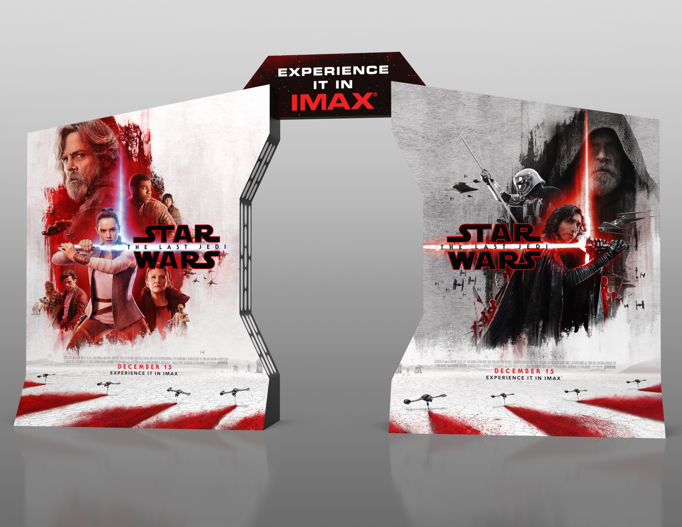 Thumbnail for Star Wars: The Last Jedi IMAX In-Theatre Standee