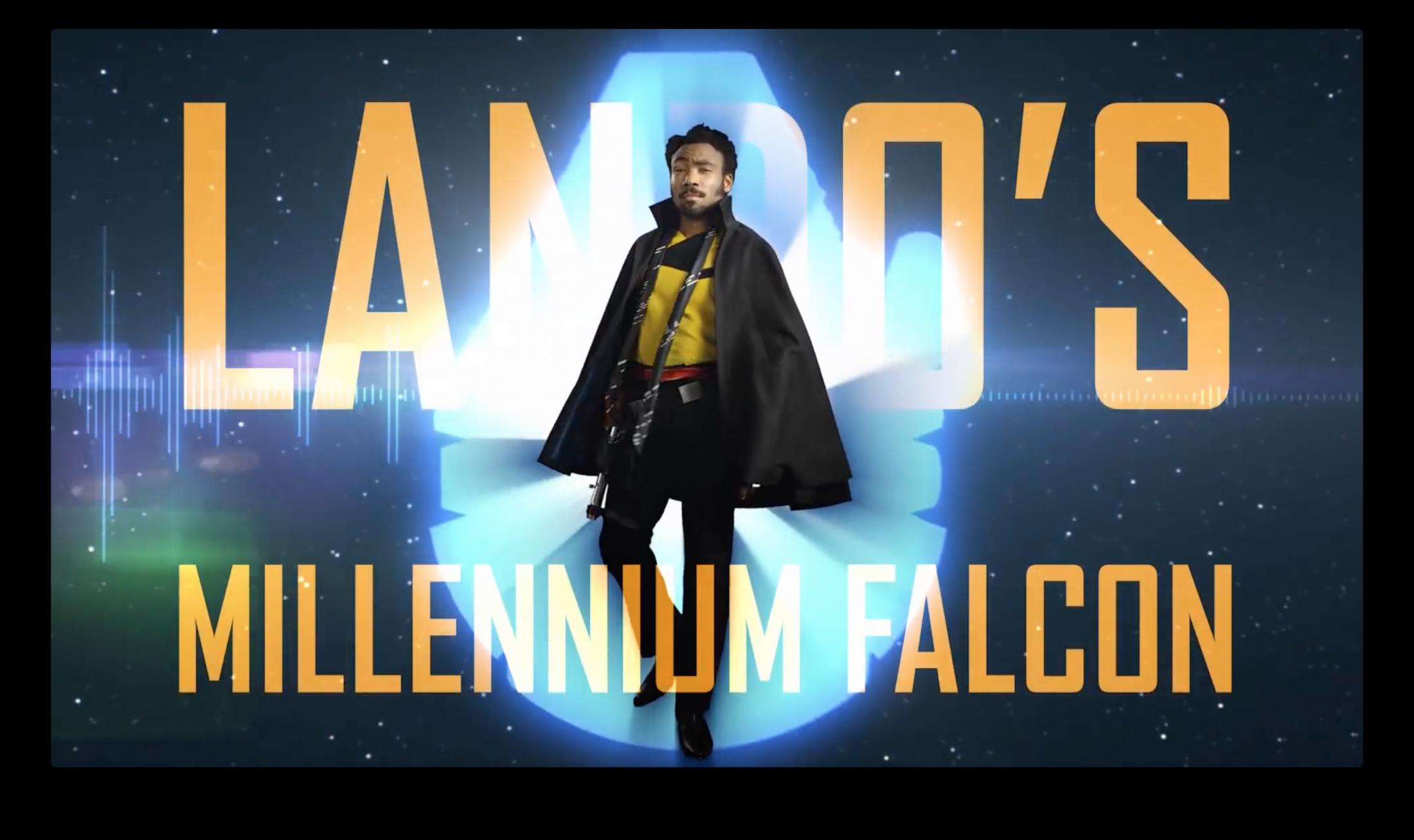 Thumbnail for Lando's Millennium Falcon