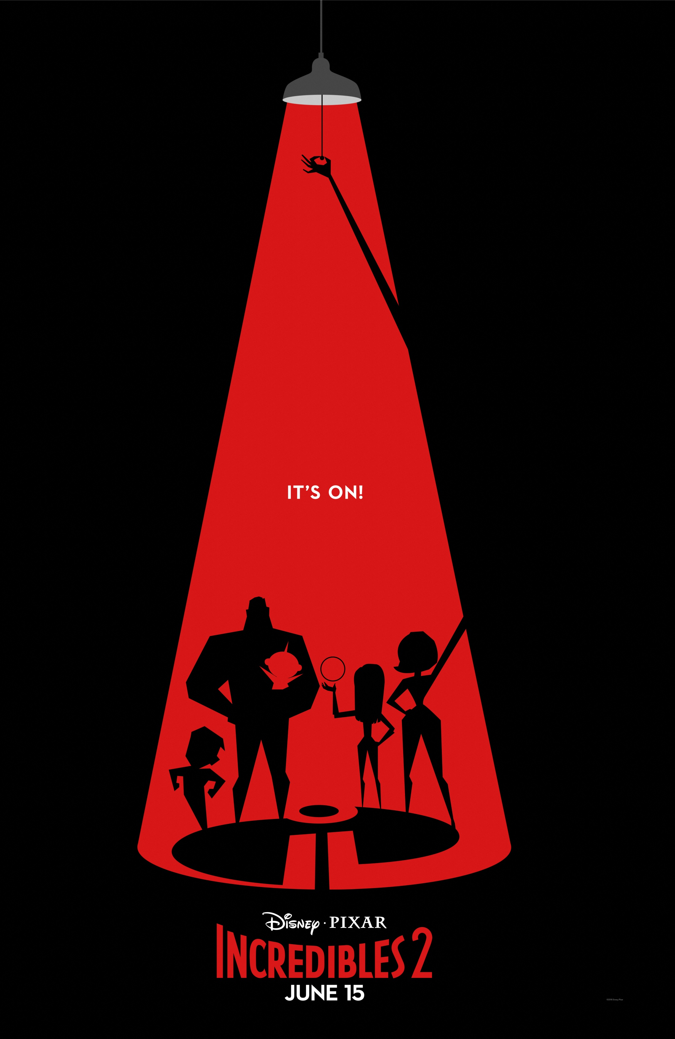 Thumbnail for Incredibles 2 Exclusive Graphic Poster Series Campaign