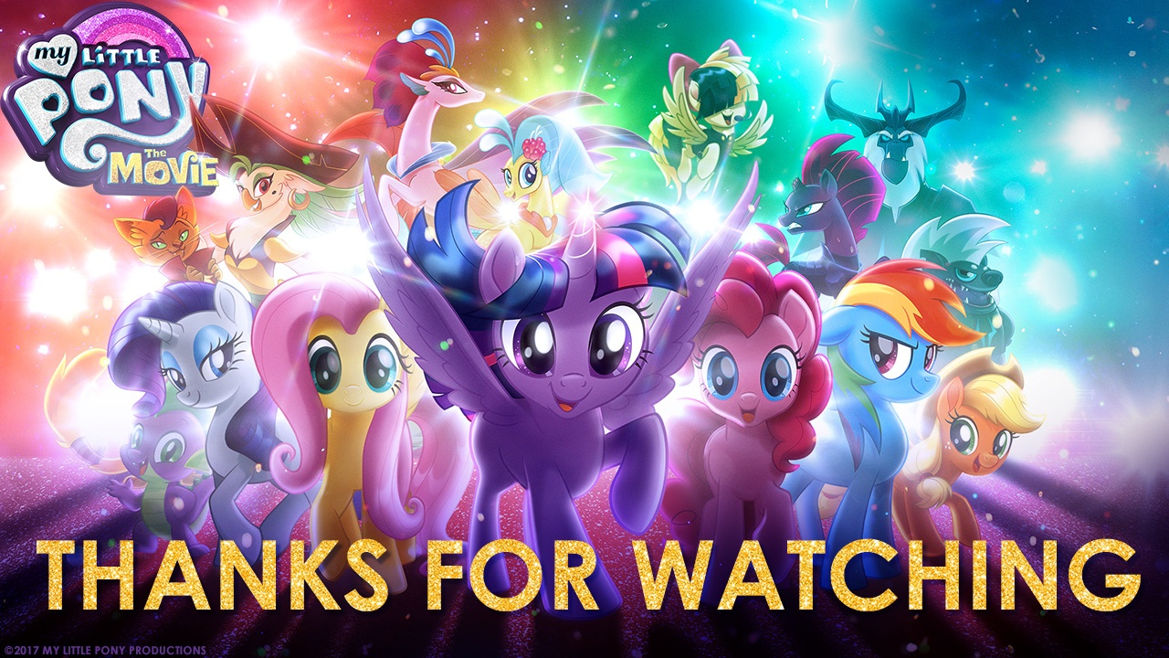 Thumbnail for My Little Pony: The Movie LIVE Streaming Event