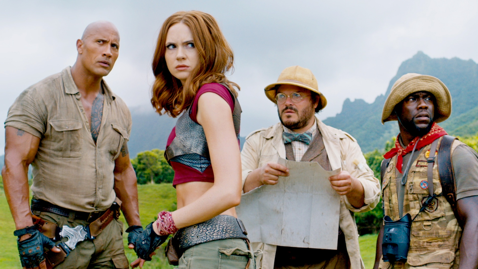 Thumbnail for Jumanji: Welcome To The Jungle, Trailer