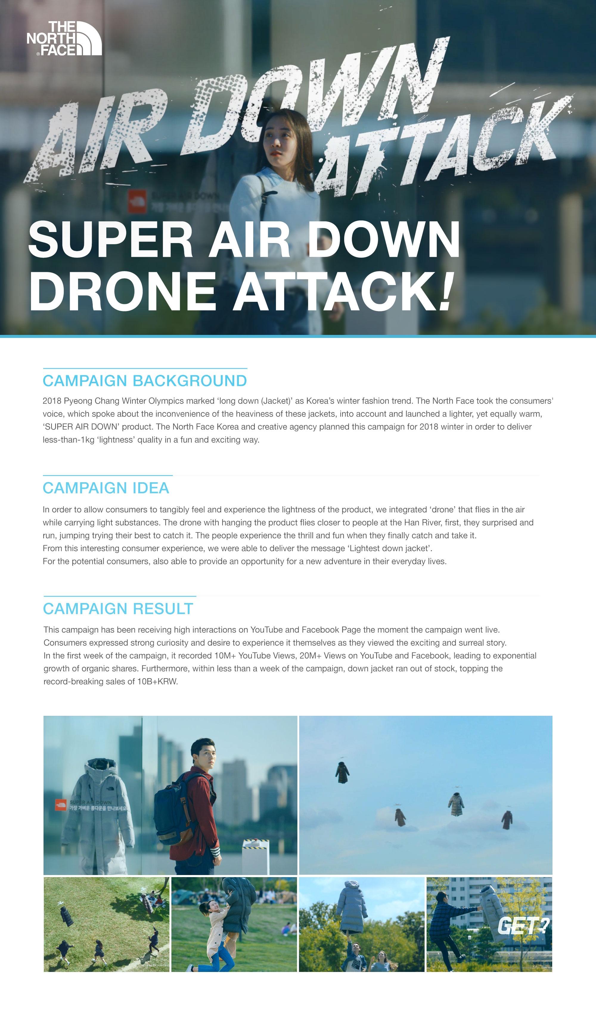 Thumbnail for Super Air Down Drone Attack