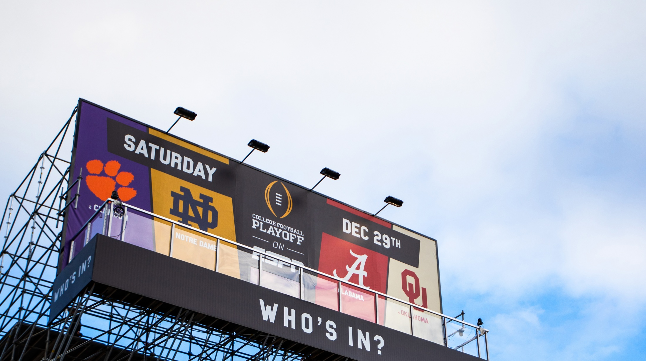 Thumbnail for College Football Playoff Billboard