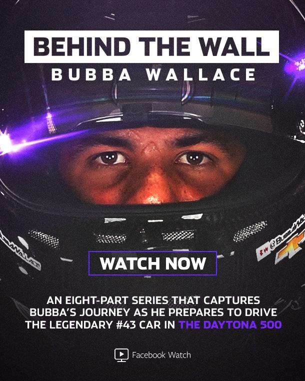 Thumbnail for Behind The Wall: Bubba Wallace