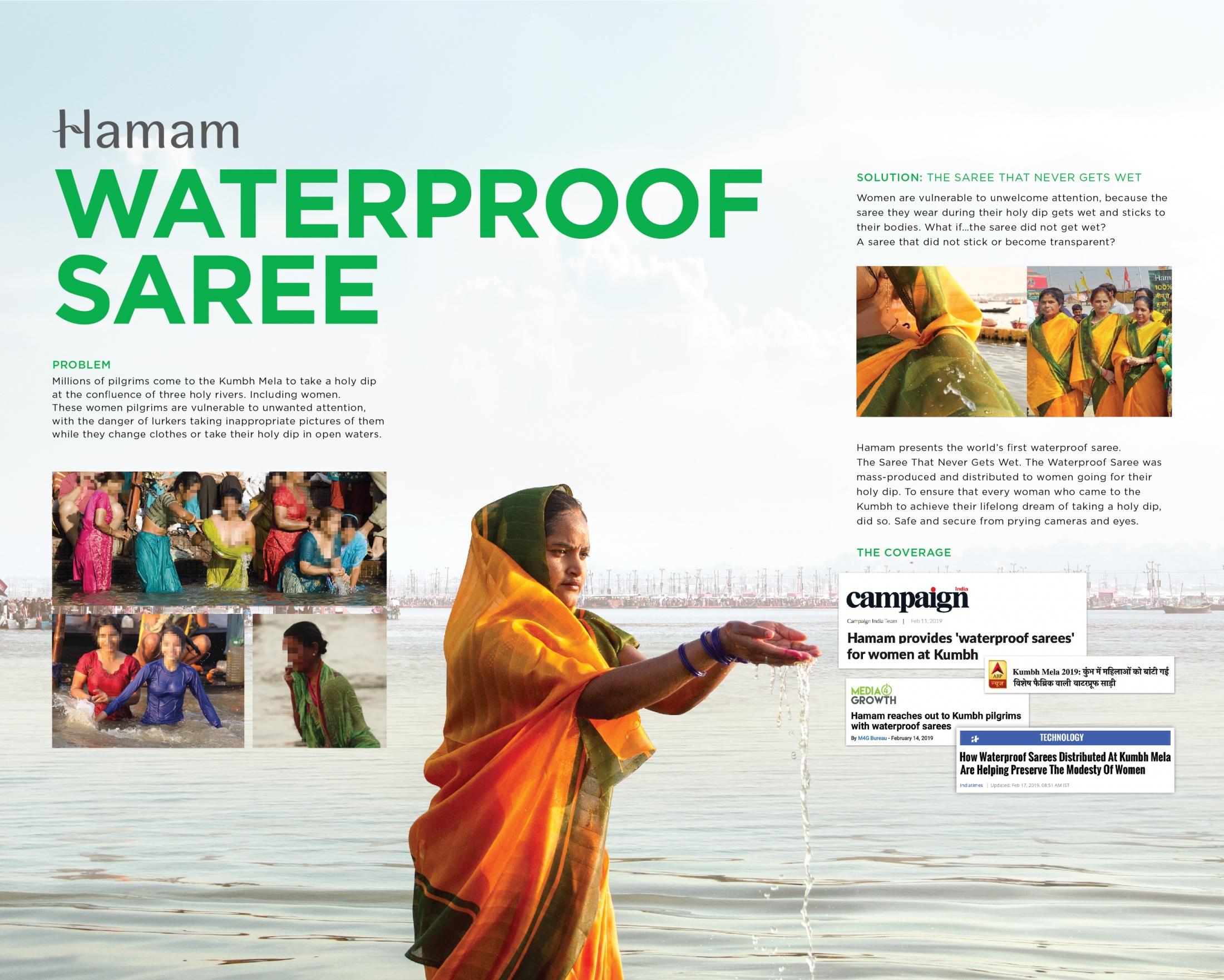 Thumbnail for The Waterproof Saree