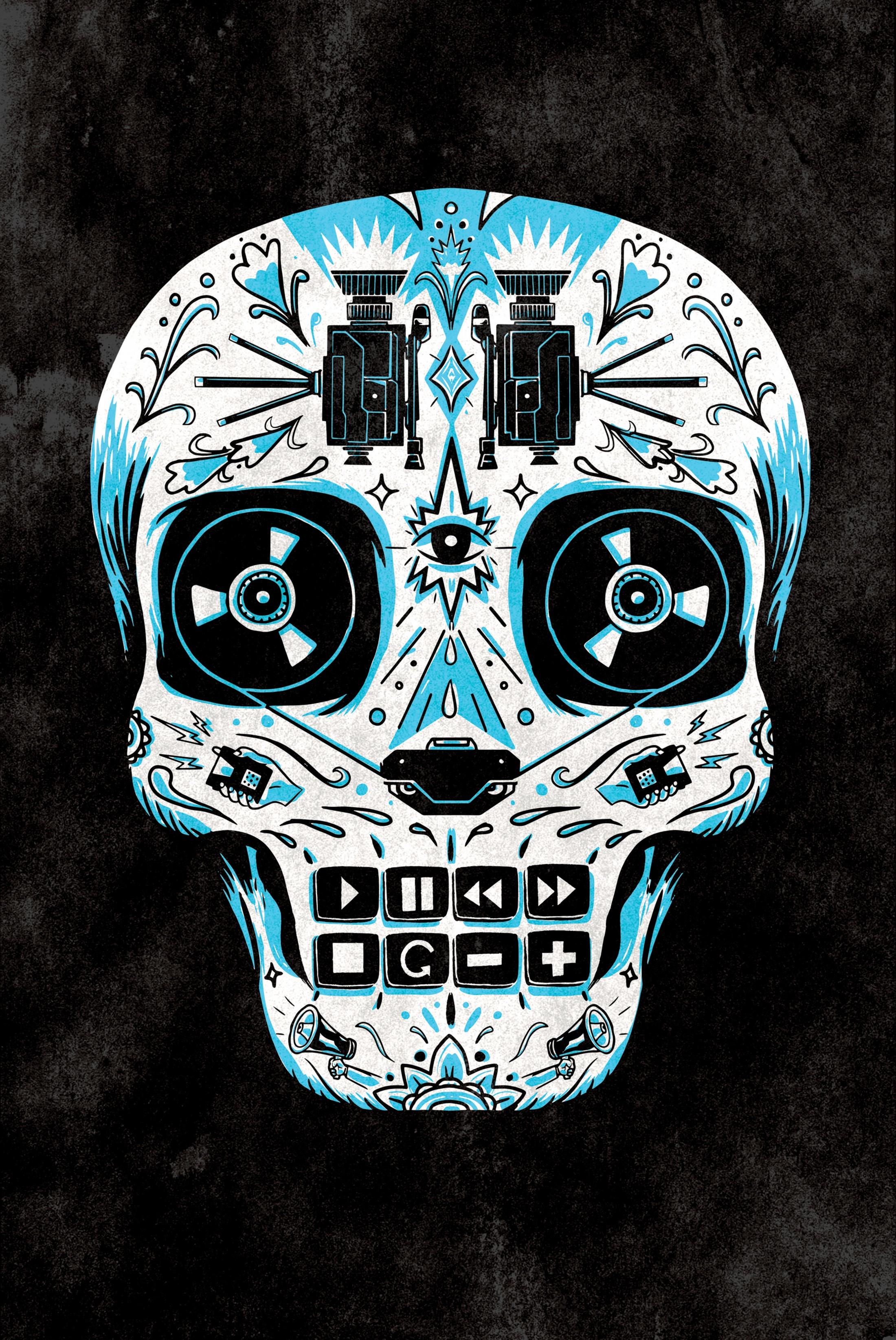 Thumbnail for Blue Skull
