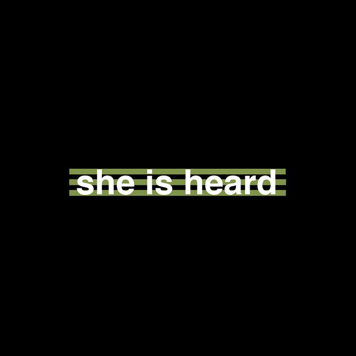 Thumbnail for she is heard