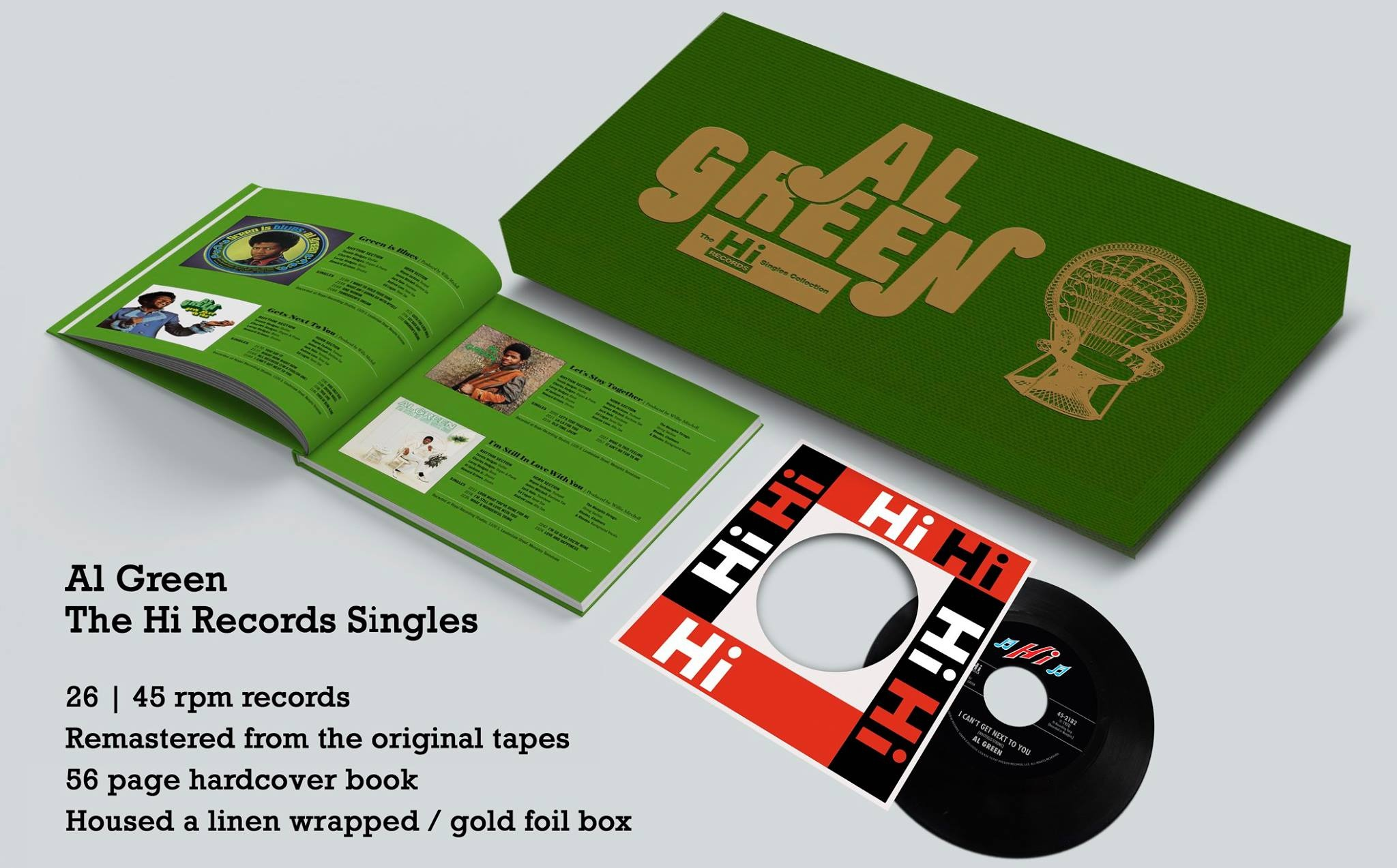 Thumbnail for Al Green's Exclusive Record Store Day Box Set