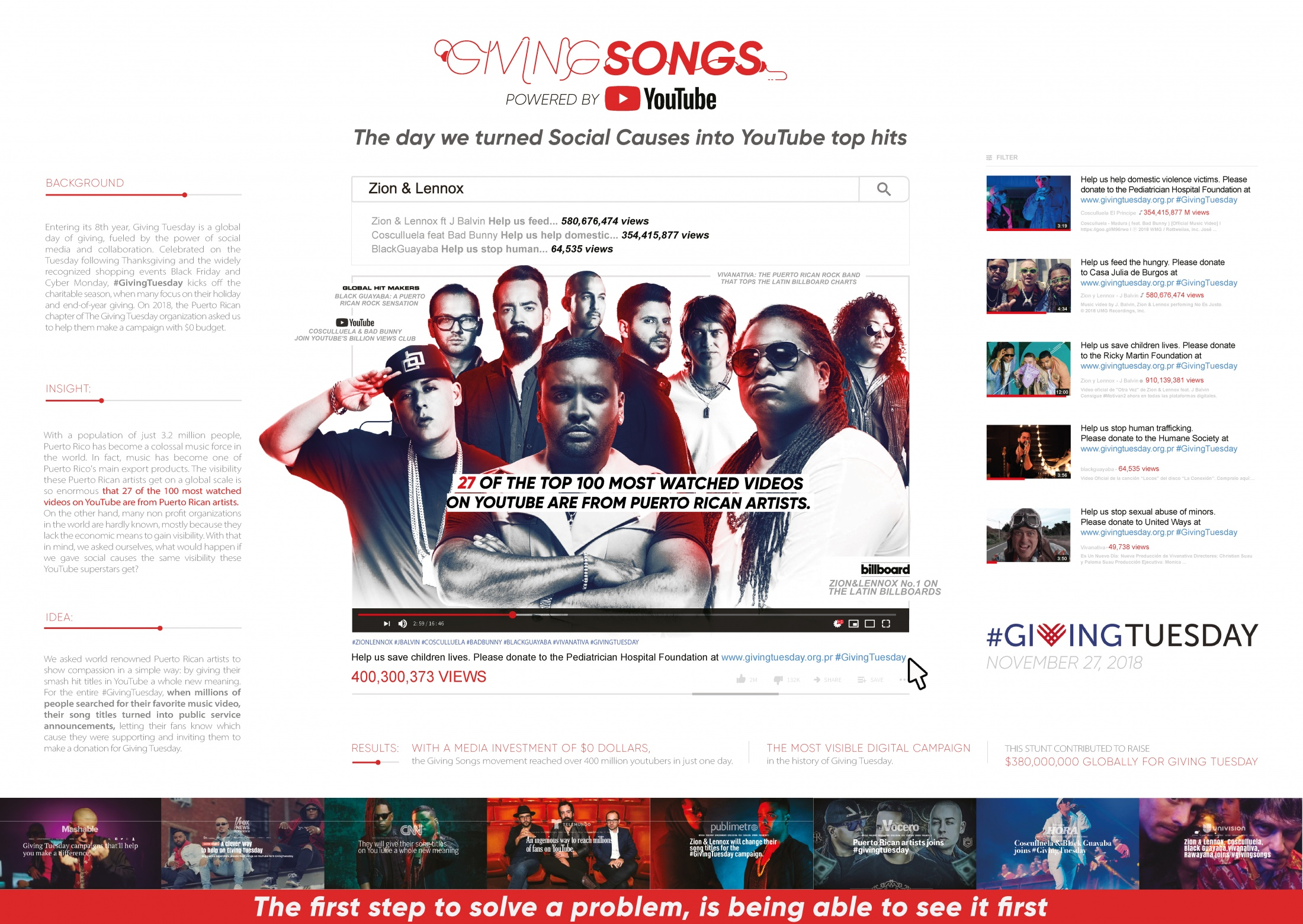 Thumbnail for Giving Songs
