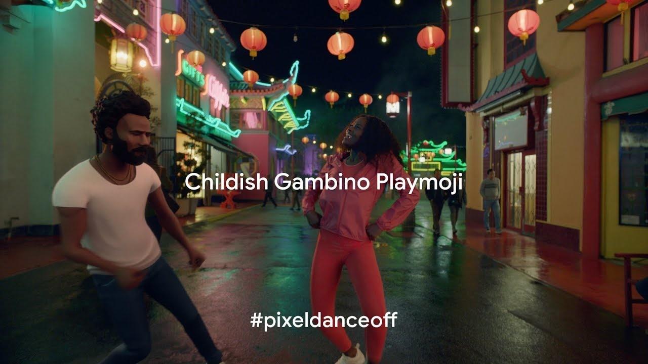 Thumbnail for Pixel 3: Childish Gambino Playmoji