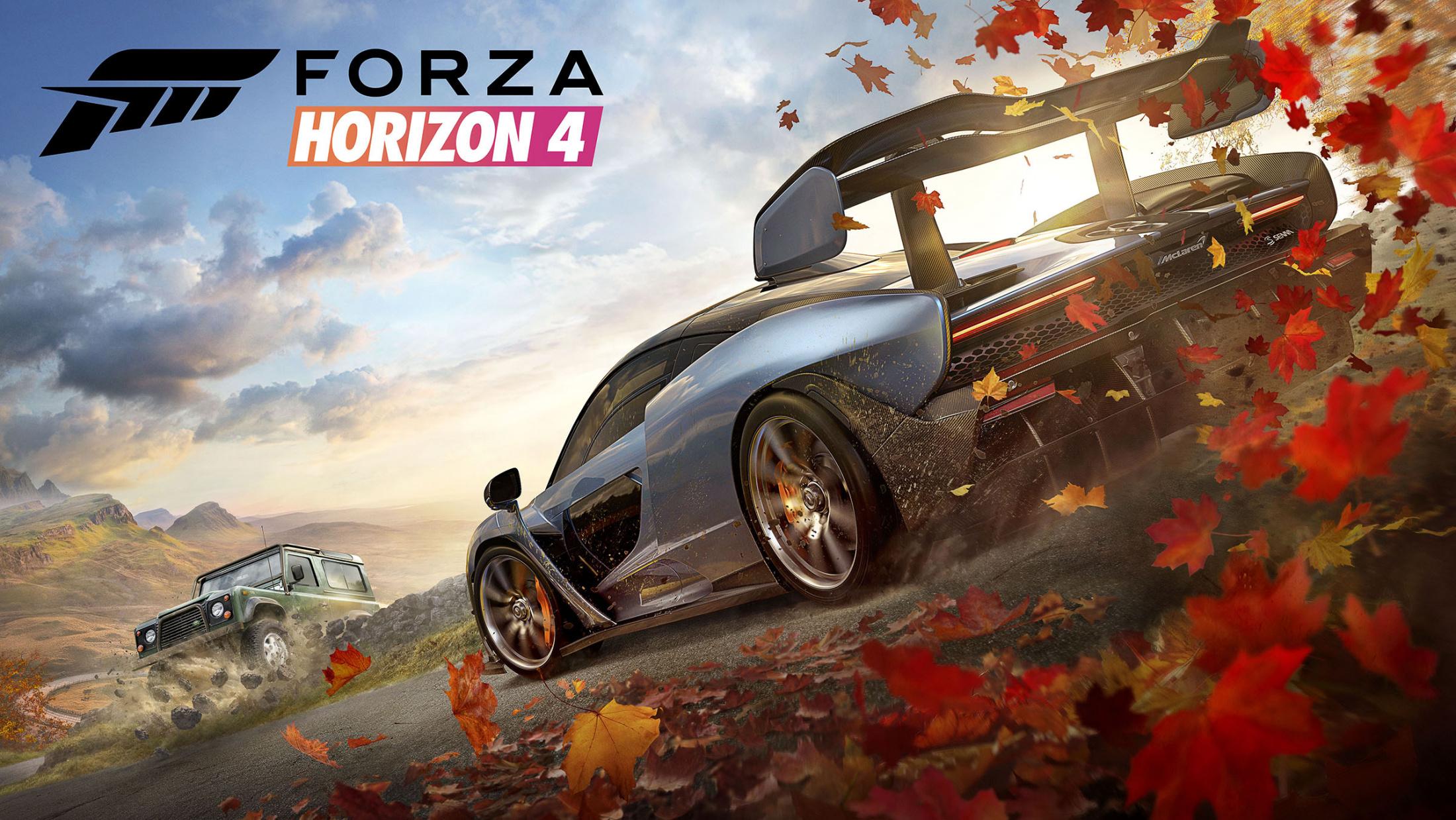 Thumbnail for Forza Horizon 4 - Visual Identity