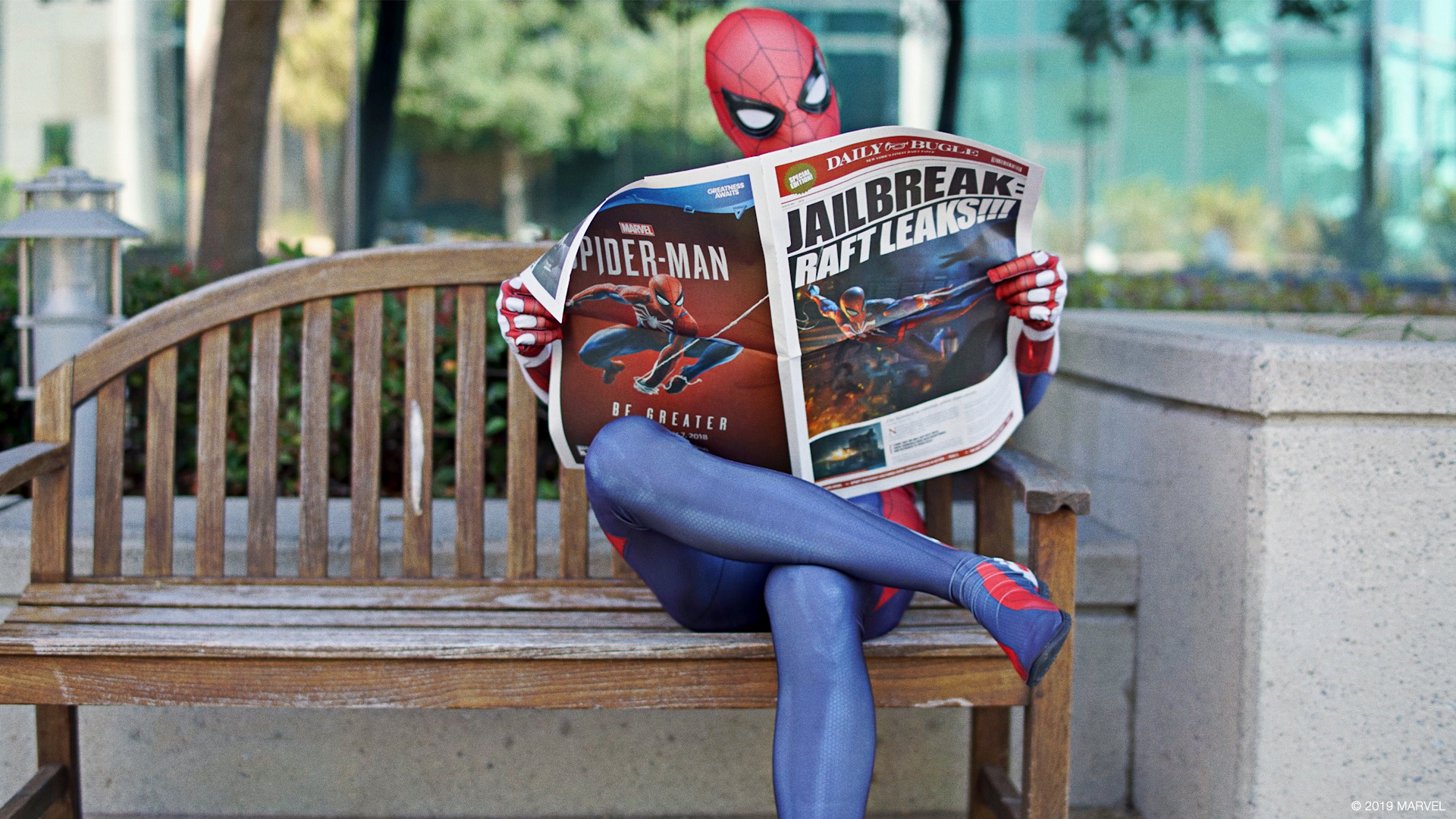 Thumbnail for Marvel's Spider-Man — Visual Identity