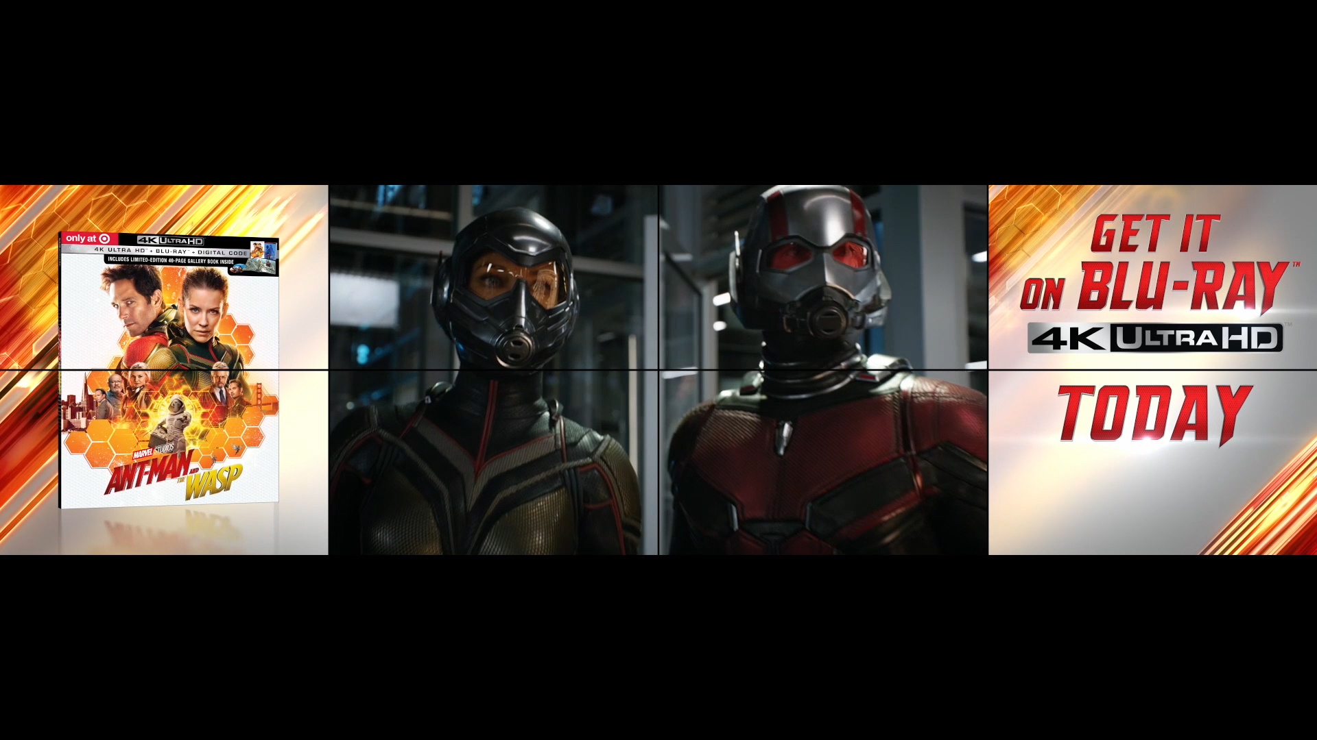 Thumbnail for Ant-Man & The Wasp - Target Wall
