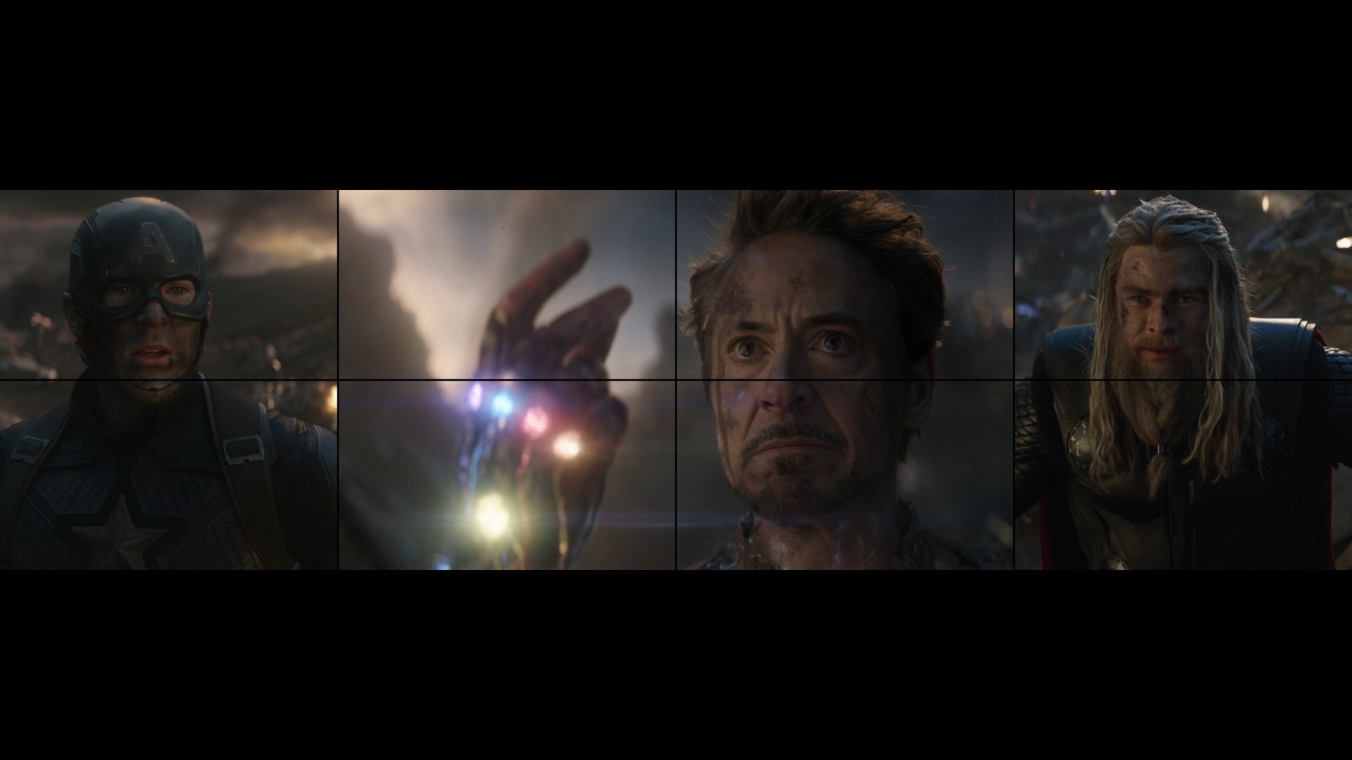 Thumbnail for Avengers: Endgame - Target Wall
