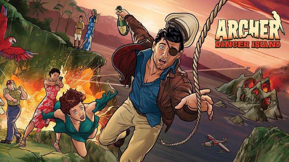 Thumbnail for Archer: Danger Island Home Entertainment Trailer
