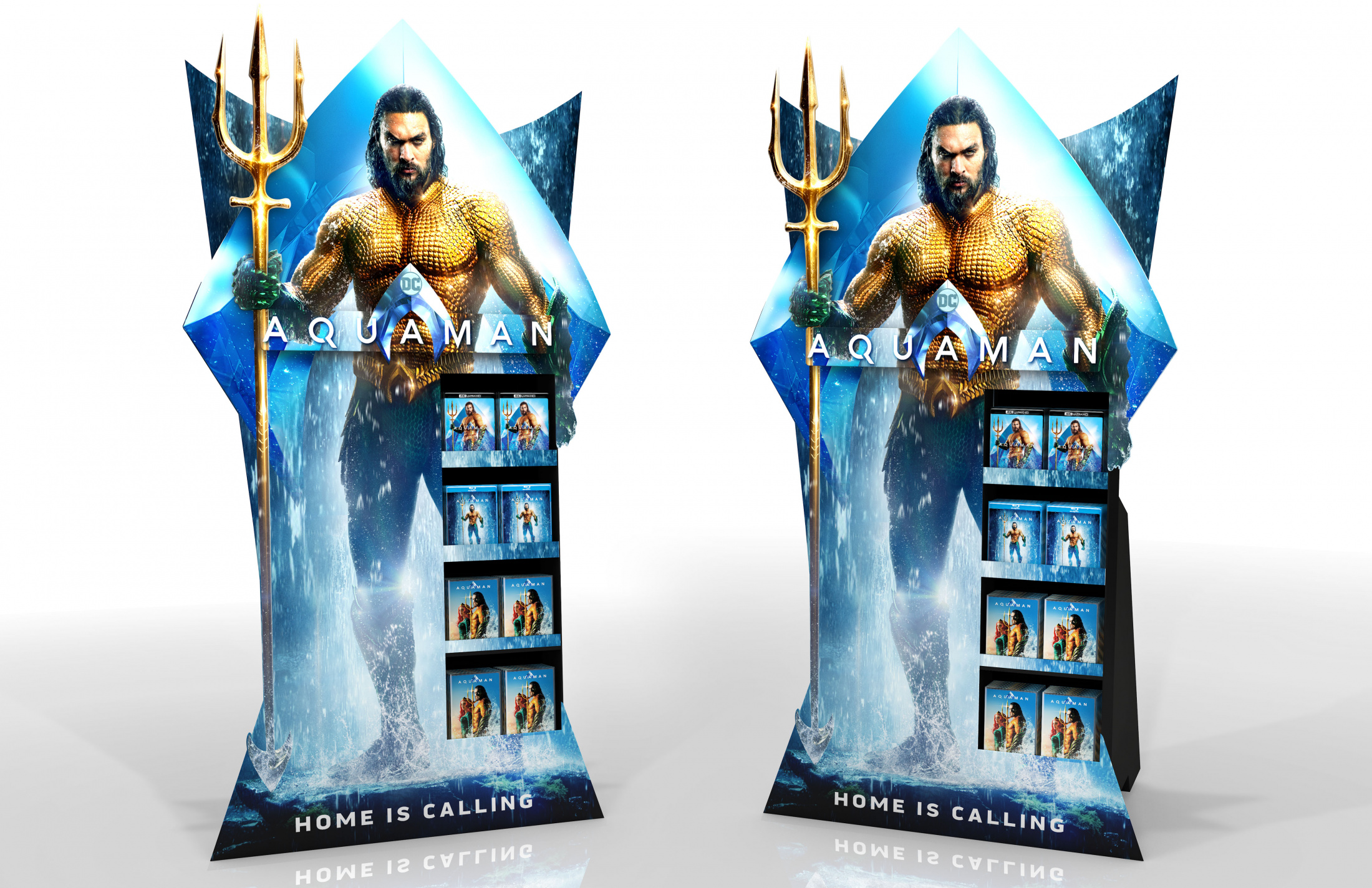 Thumbnail for Aquaman Home Entertainment Shoppable Point of Purchase Standee
