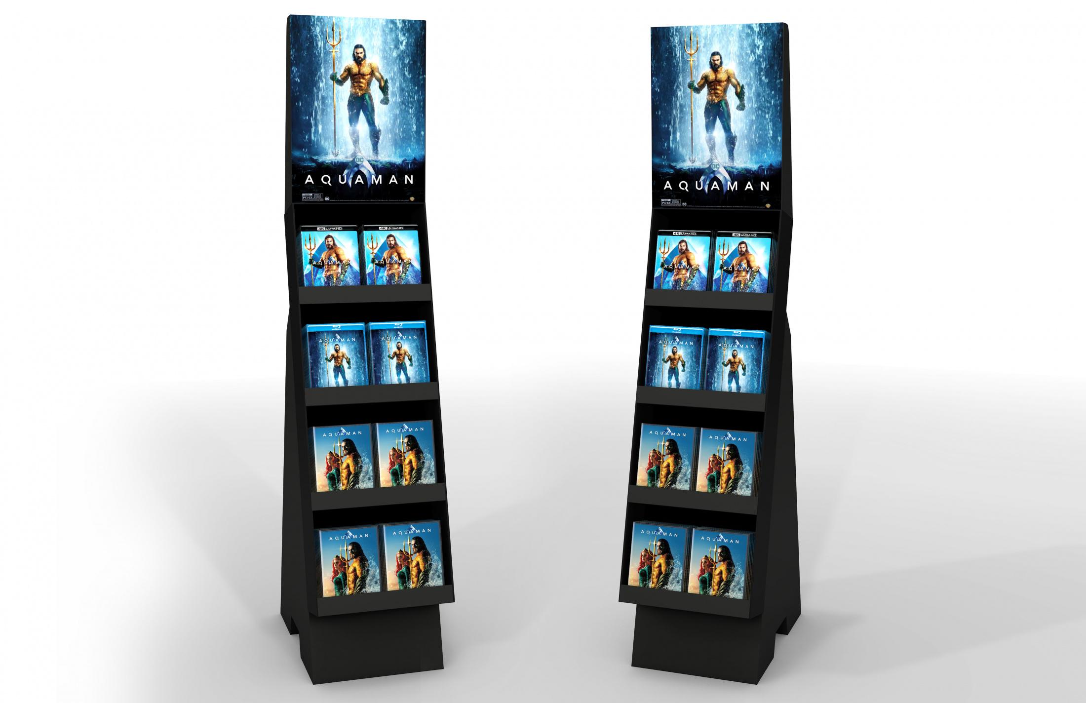 Thumbnail for Aquaman Home Entertainment Shoppable Floor Display Non Event