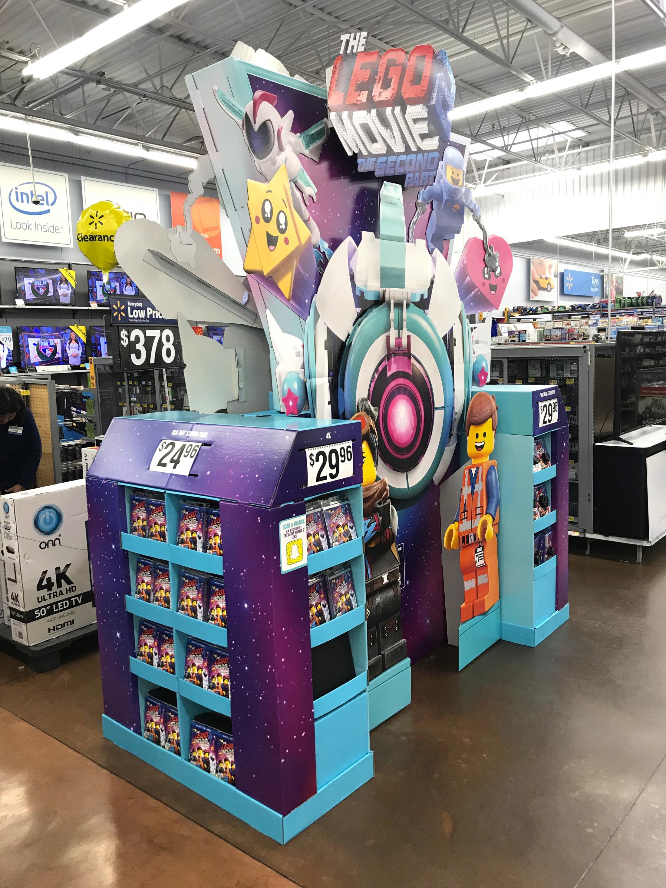 Thumbnail for LEGO Movie 2 Walmart WOW Display