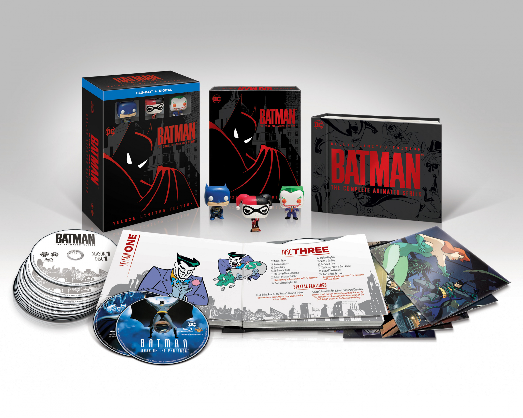 Thumbnail for Batman: The Complete Animated Series Deluxe Edition