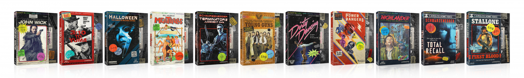 Thumbnail for VHS Retro Packaging Line Look