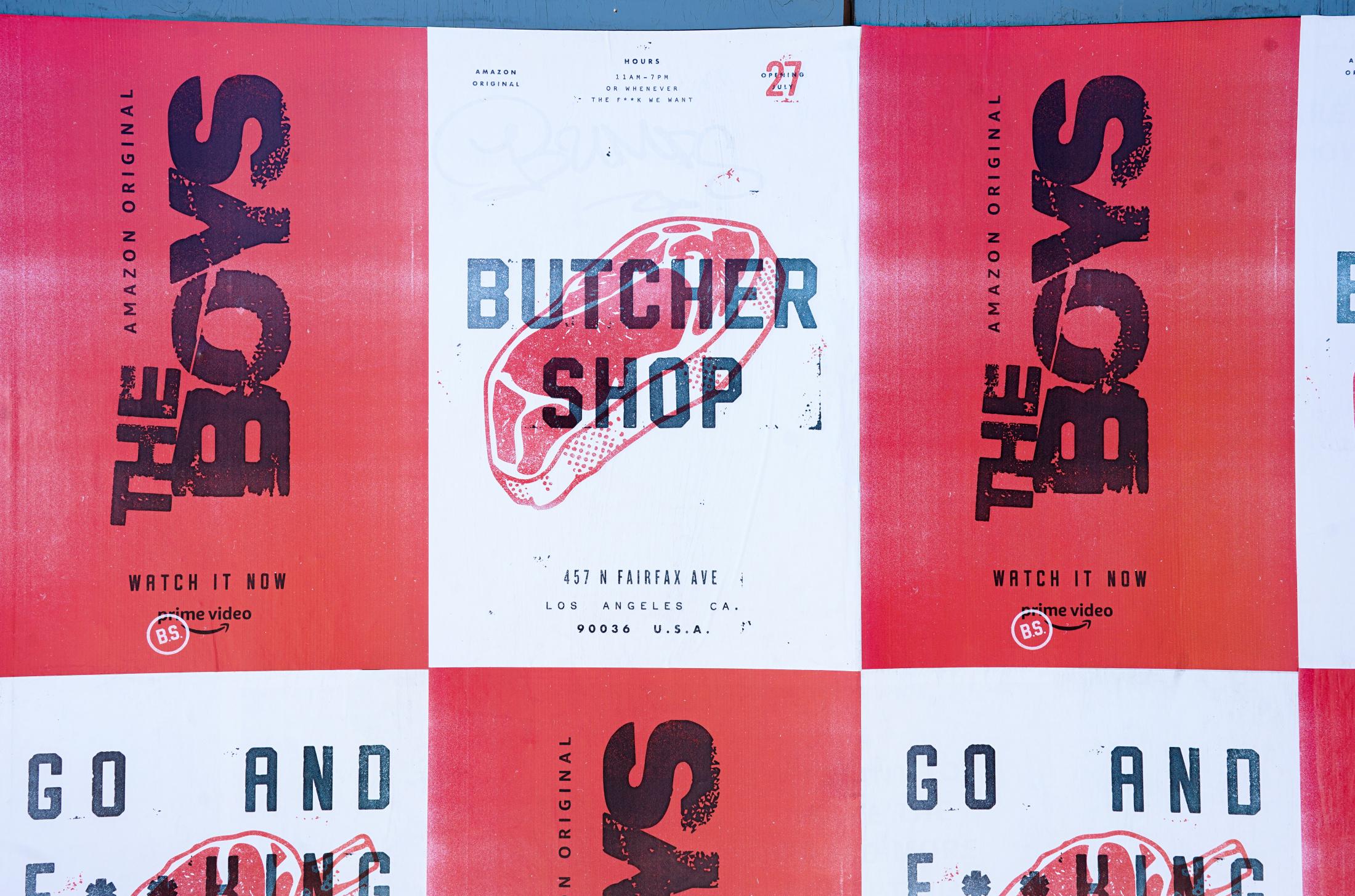 Thumbnail for The Boys - Butcher Shop