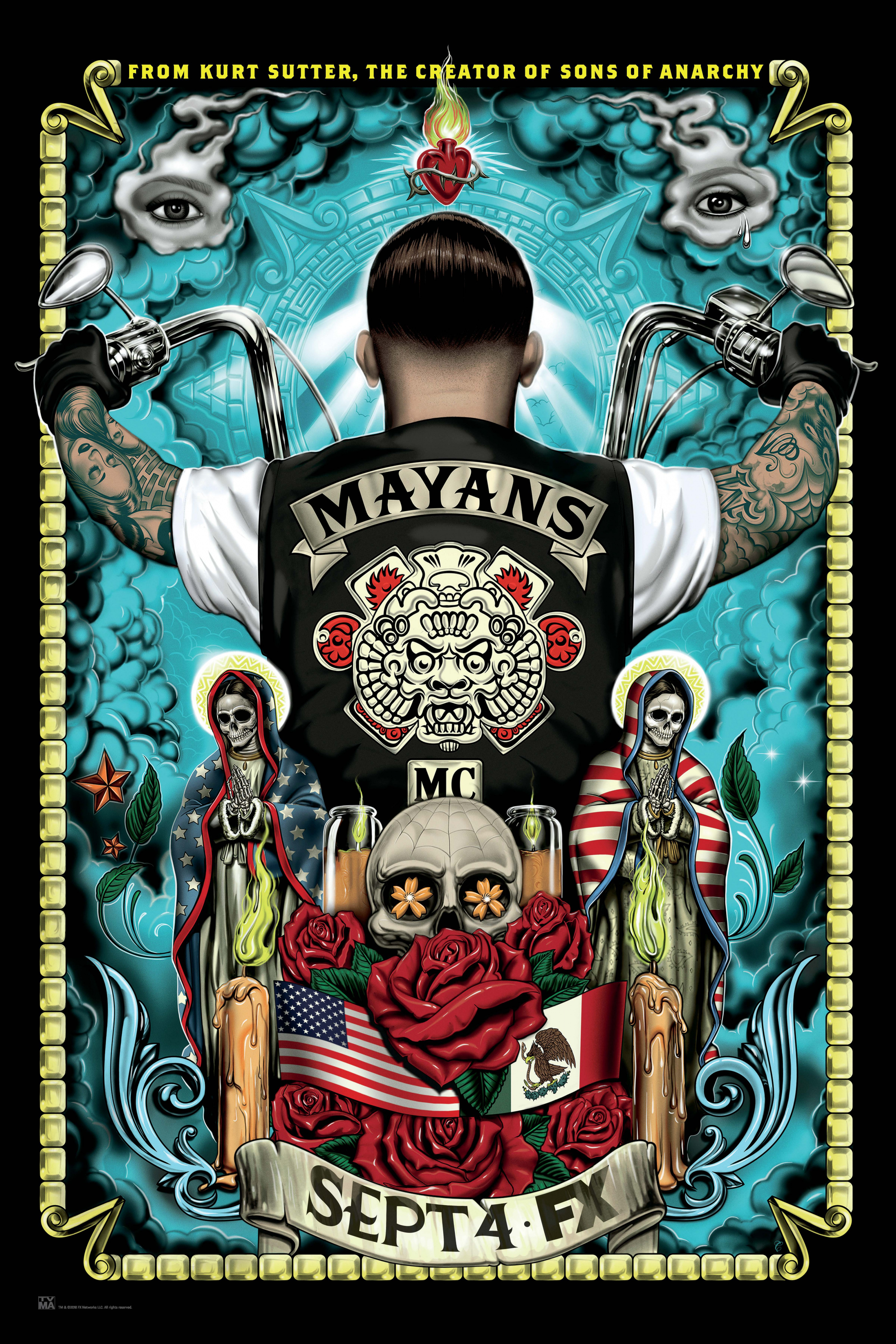 Thumbnail for Mayans M.C. - Key Art 3