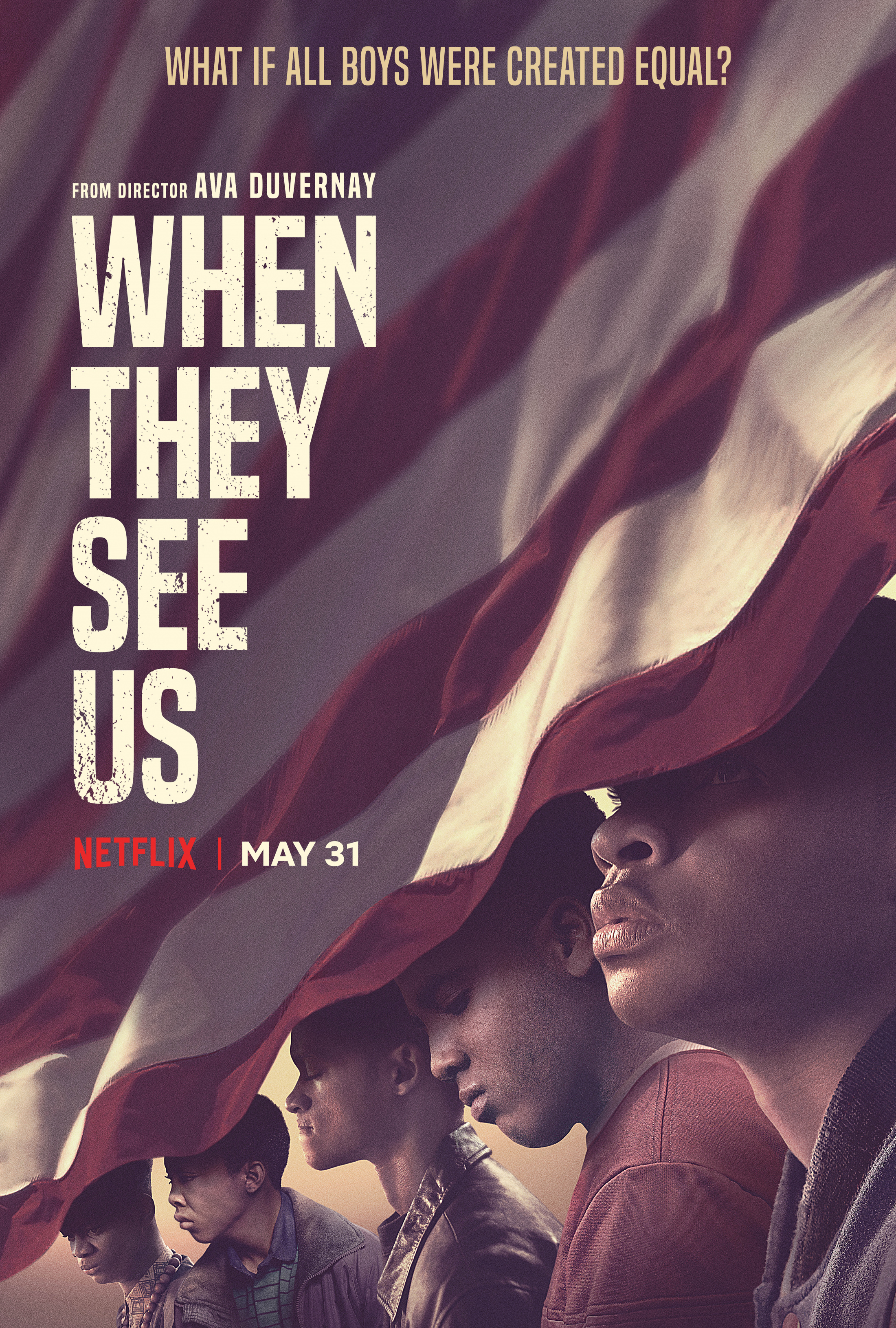 Thumbnail for When They See Us Key Art