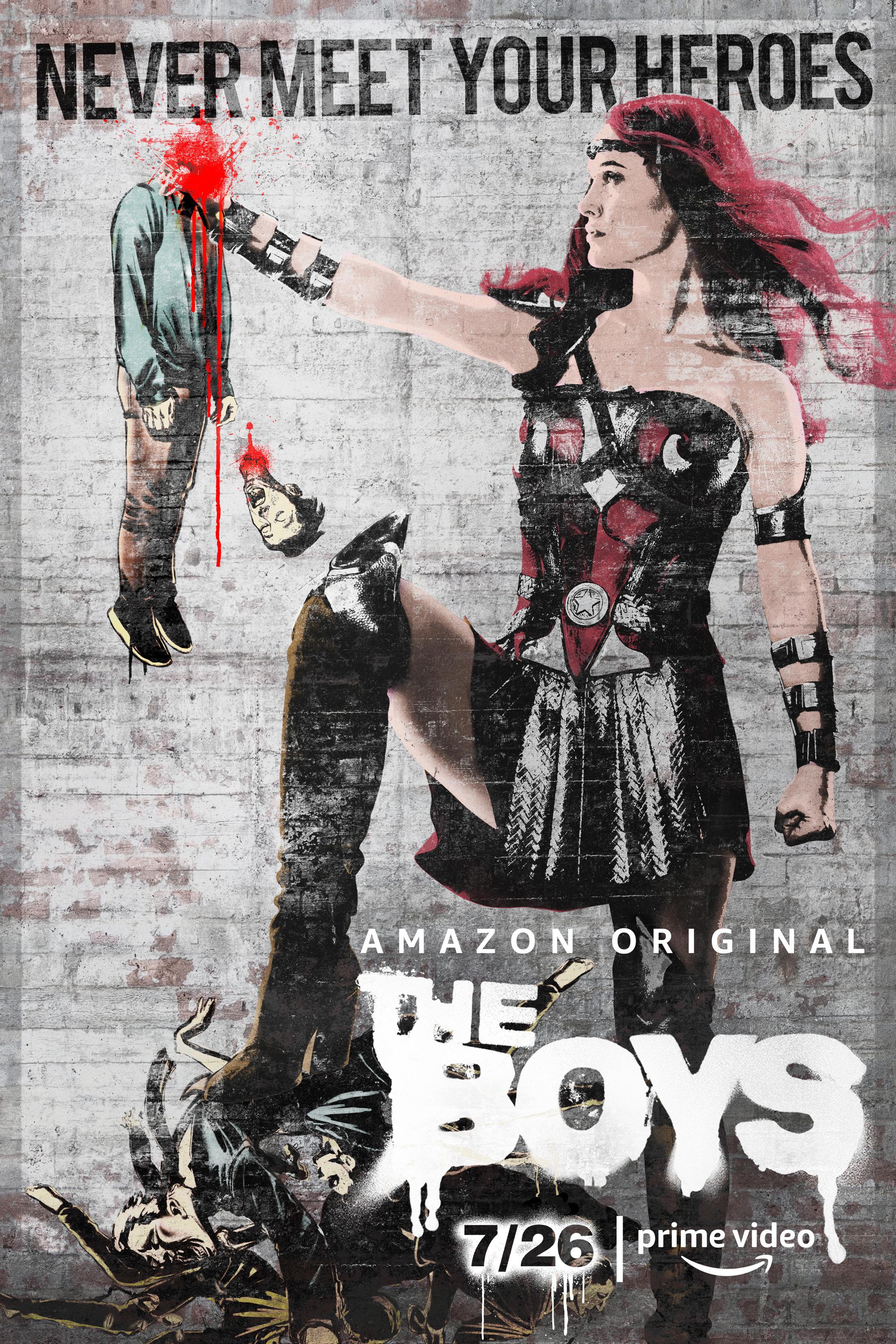 Thumbnail for The Boys Key Art - Queen Maeve