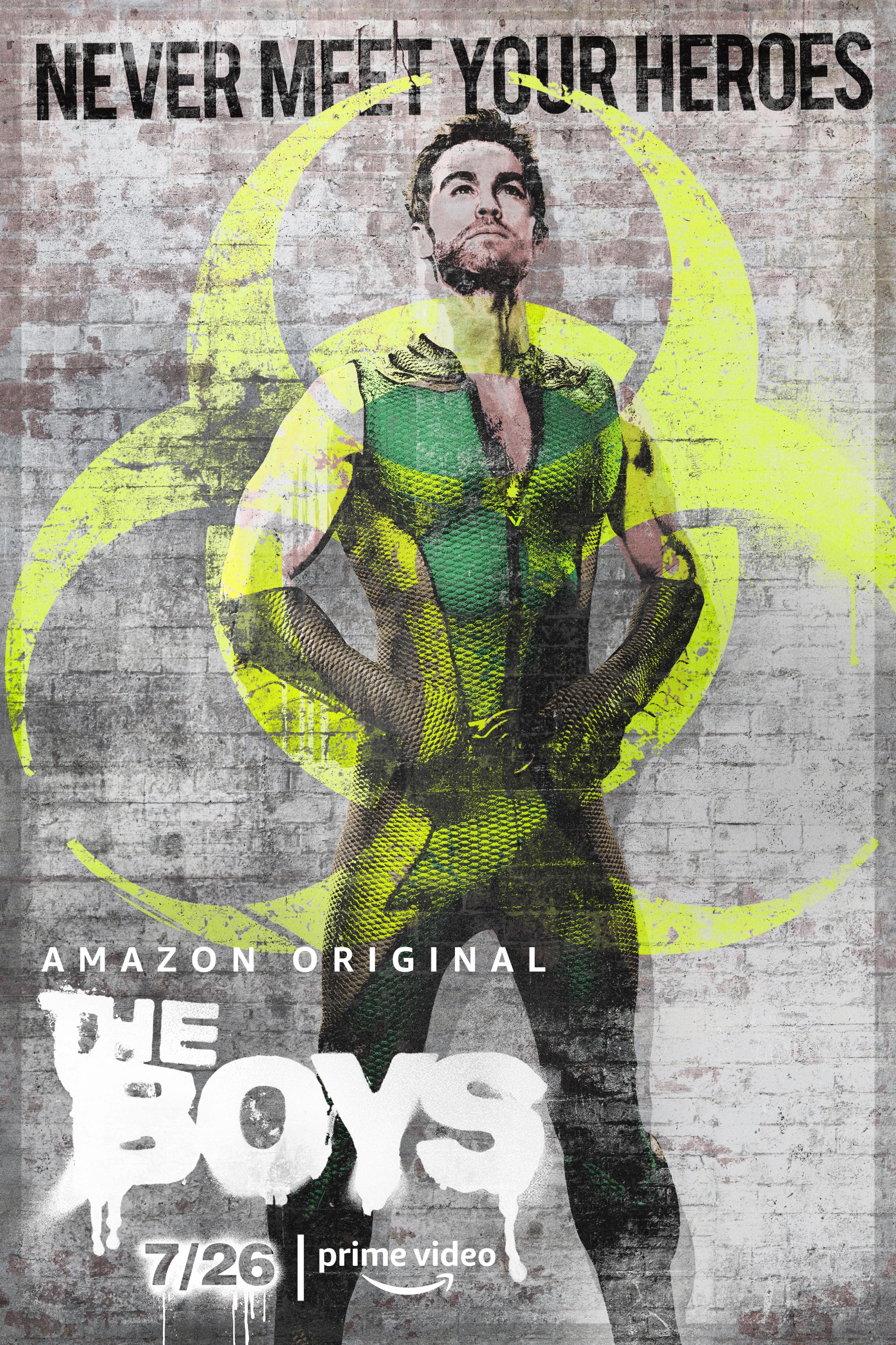 Thumbnail for The Boys Key Art - The Deep