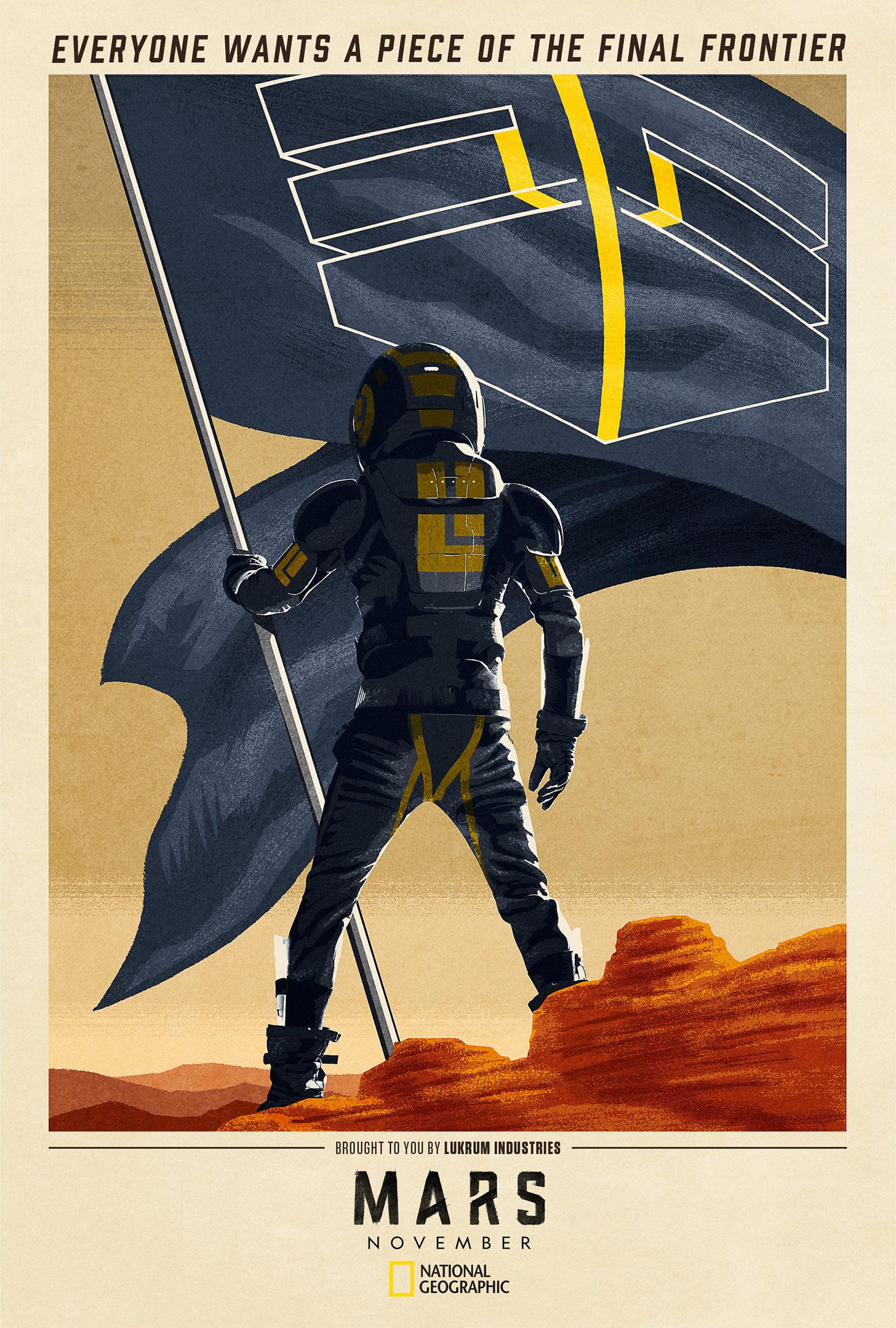 Thumbnail for Mars Season 2: Tease Art Campaign 3