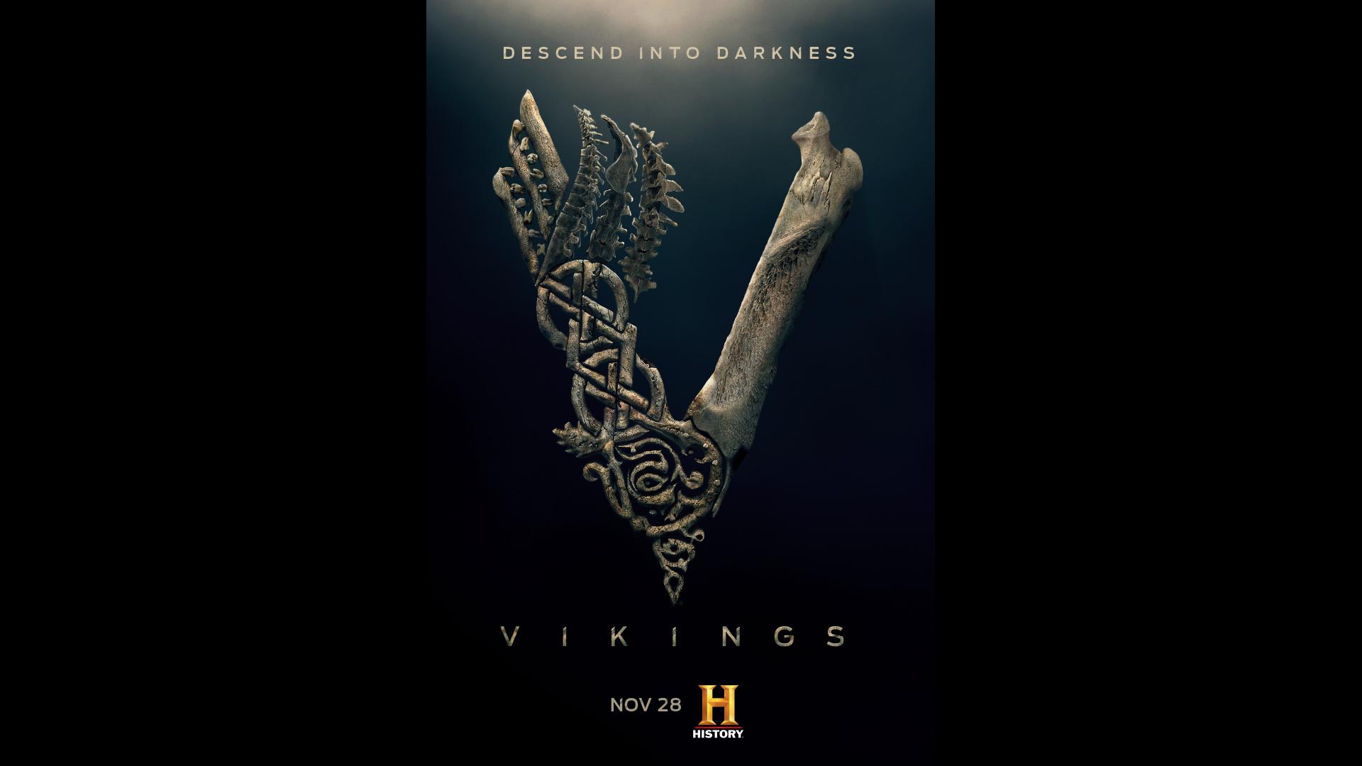 Thumbnail for Vikings: Tease Poster