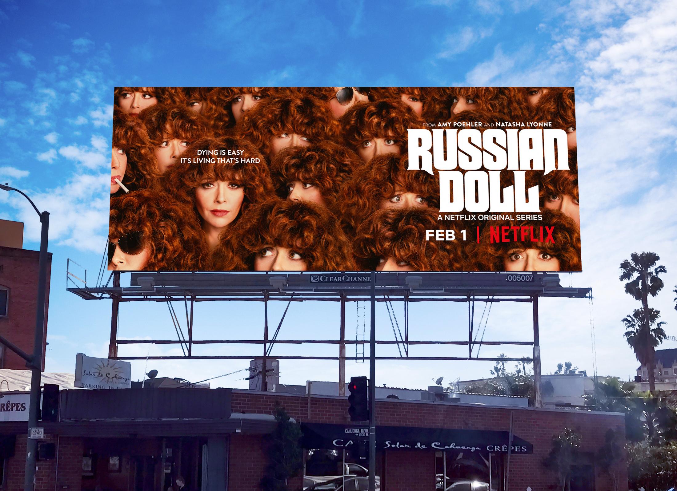 Thumbnail for Russian Doll OOH Key Art