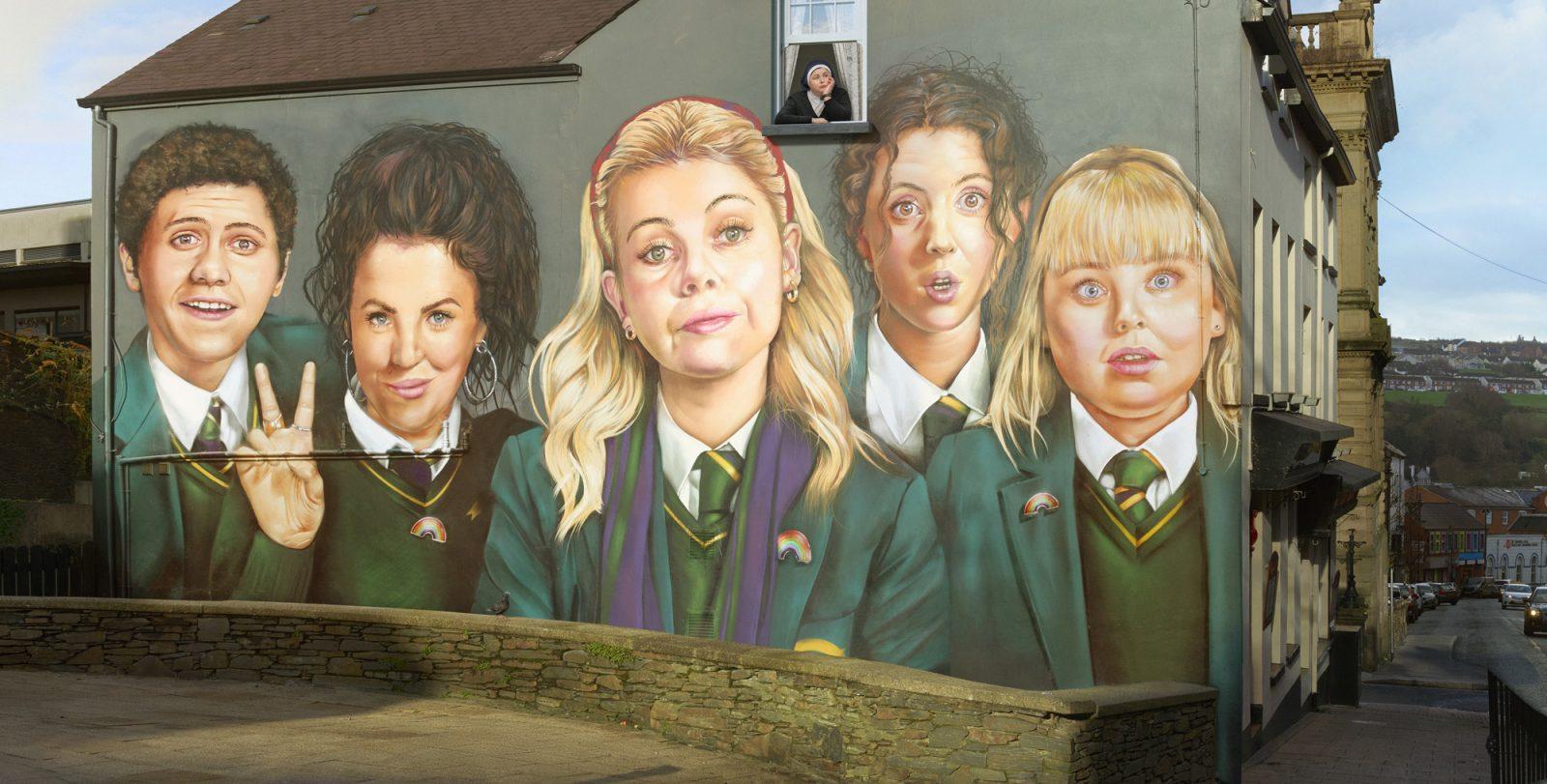 Thumbnail for Derry Girls Mural
