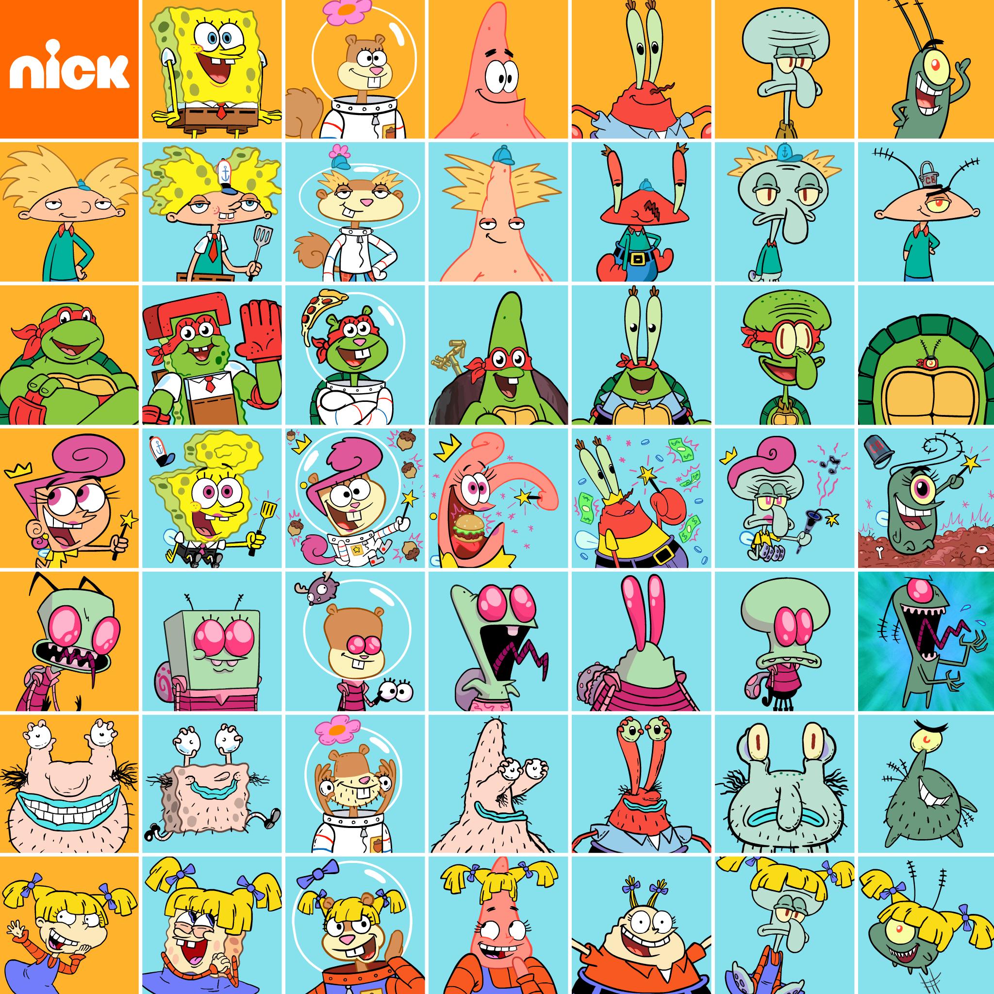 Thumbnail for SpongeBob x Nickelodeon Mashup Matrix