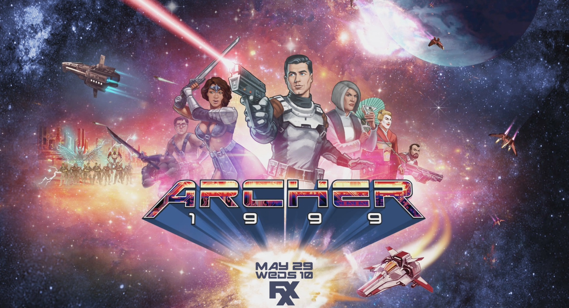 Thumbnail for Archer S10 - Motion Poster